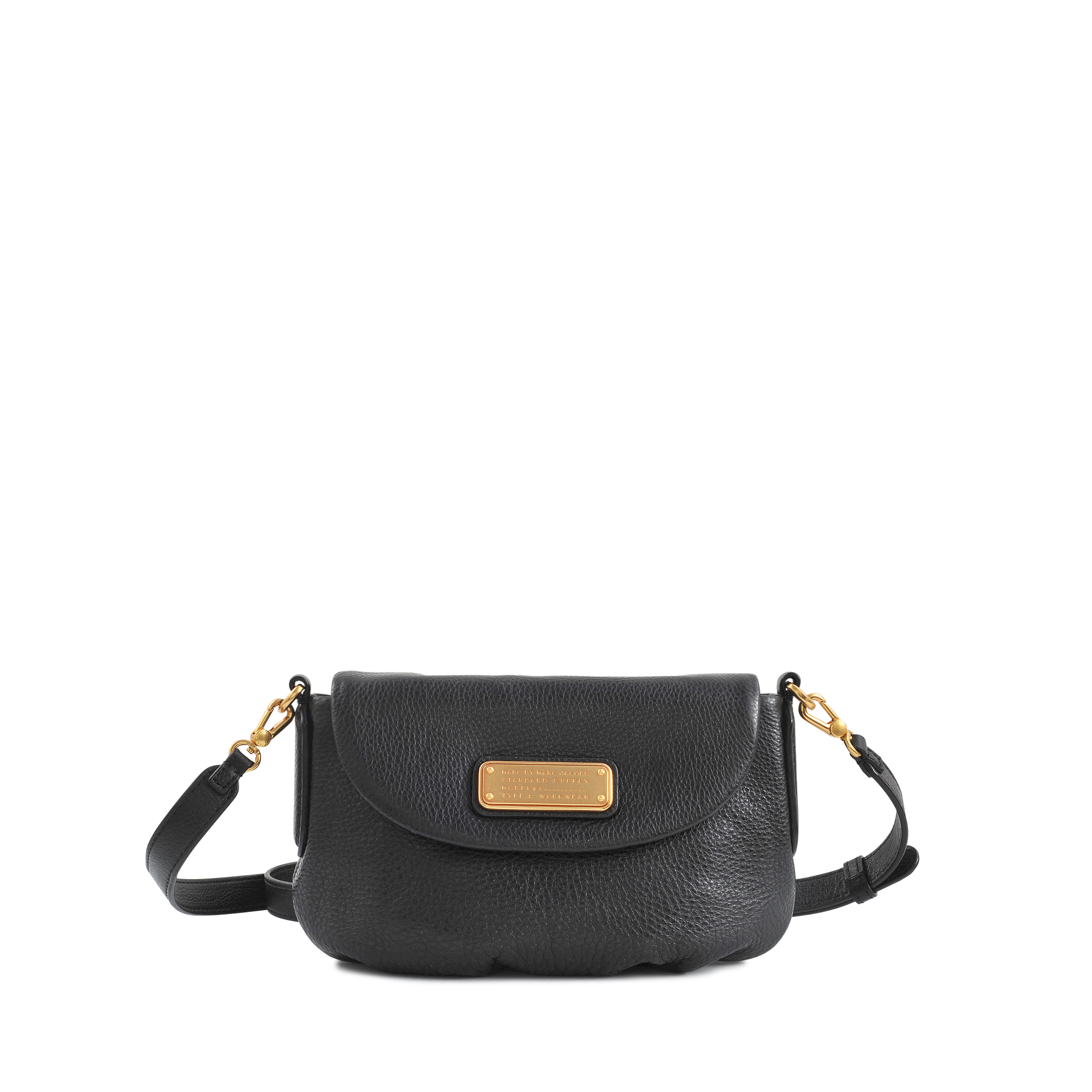 2b7ab8efc0e Marc By Marc Jacobs Small Percy New Q Flap Bag in Black - Lyst
