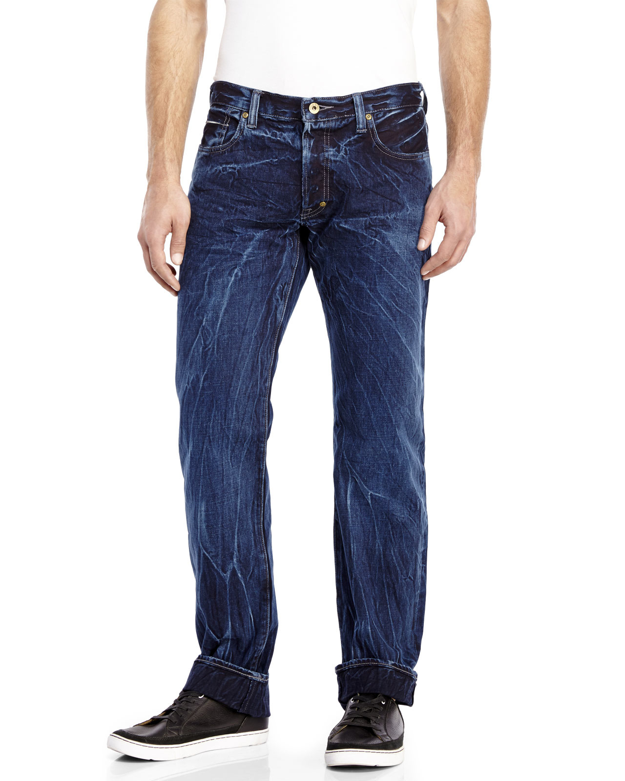 Prps Barracuda Bleached Jeans In Blue For Men