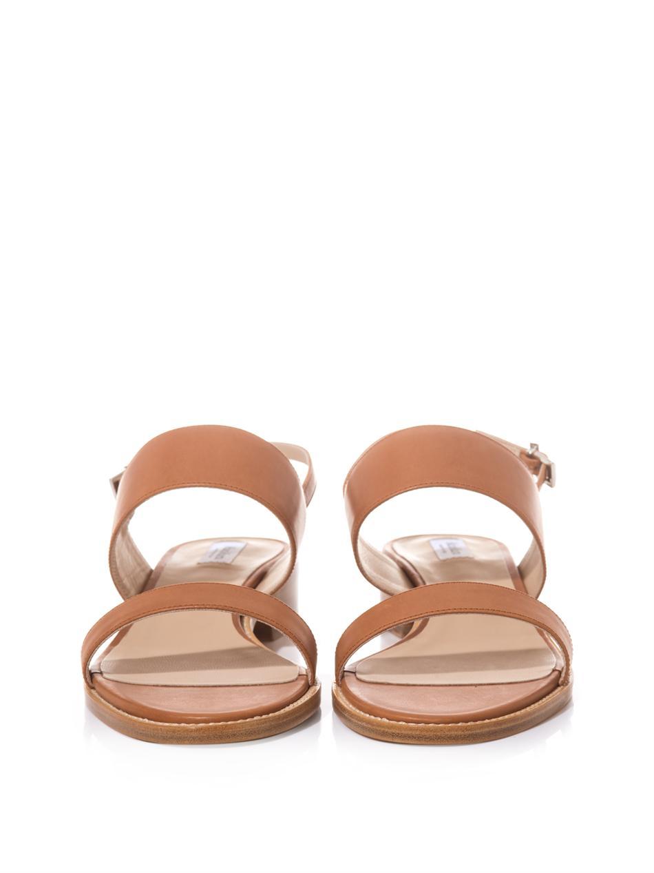 Max Mara Leather Sandals v0HttbI