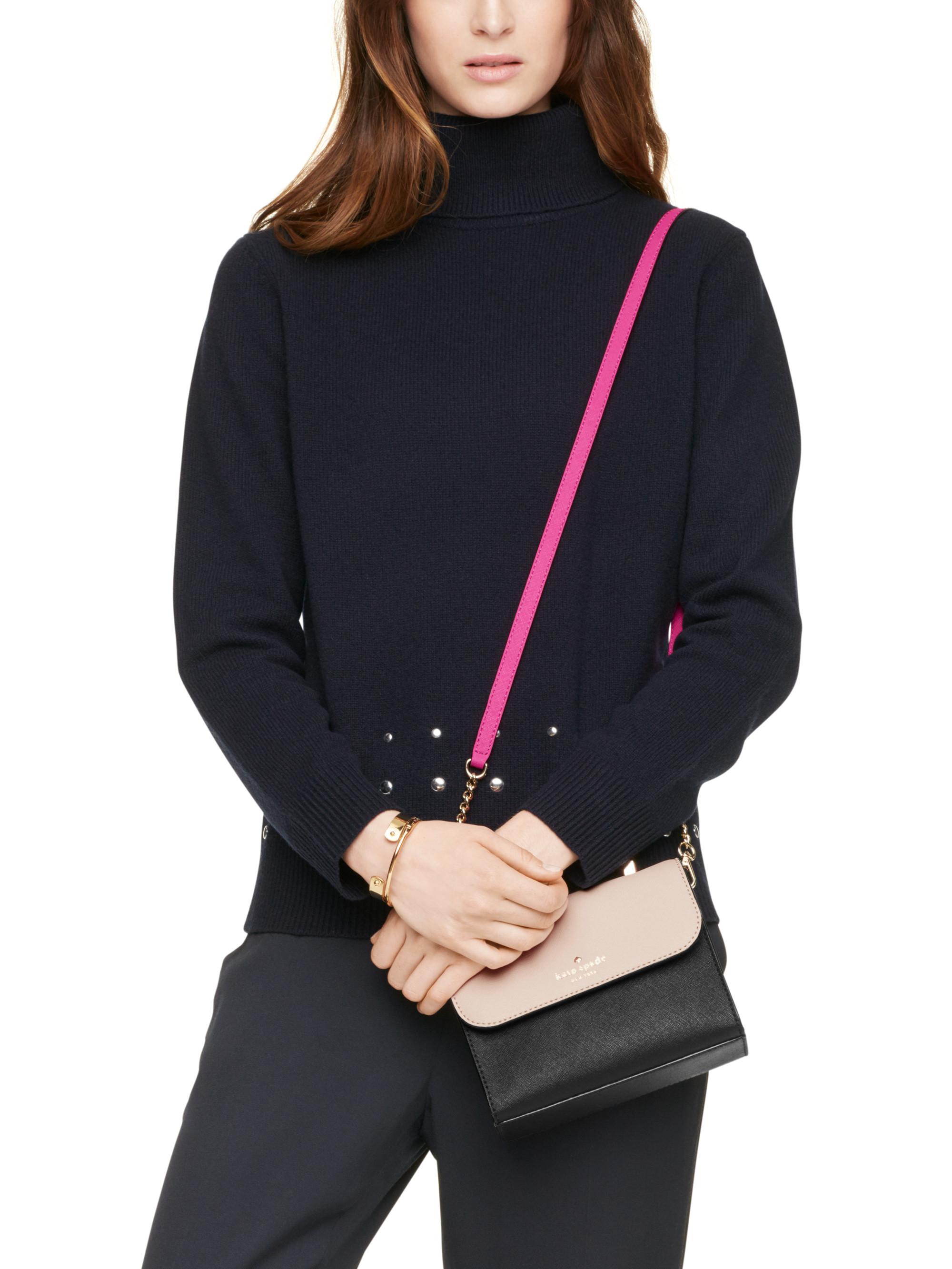 806538073d5d Lyst - Kate Spade Cedar Street Mini Nora in Black