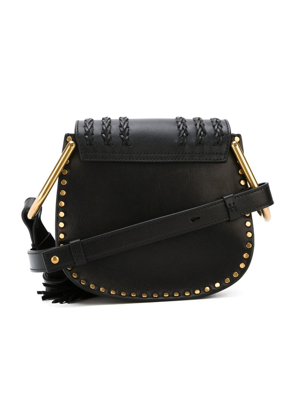Chlo�� Mini \u0026#39;hudson\u0026#39; Shoulder Bag in Black | Lyst
