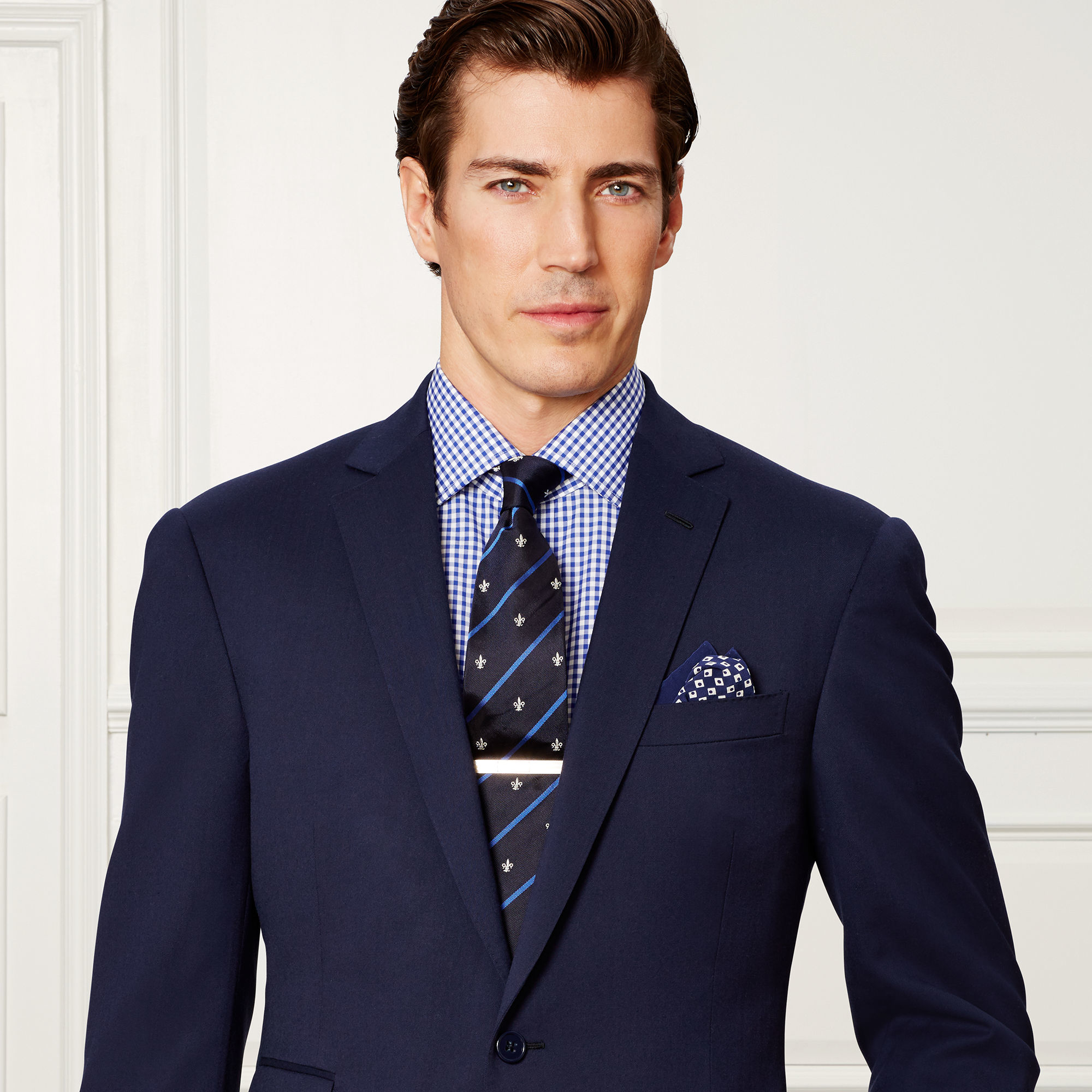 Lyst - Ralph lauren purple label Drake Wool Sport Coat in Blue for Men