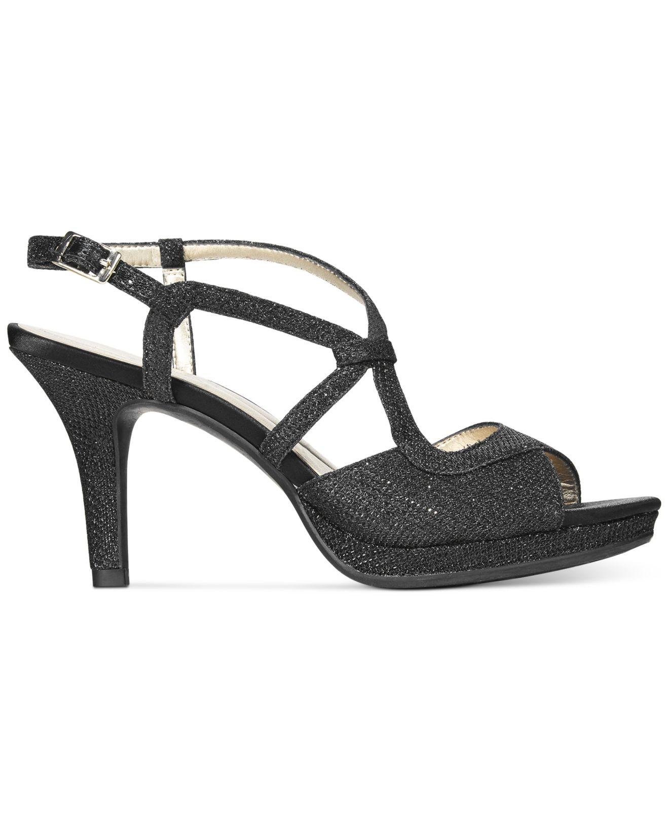fa9e8097d78 Lyst - Bandolino Swain Evening Sandals in Black