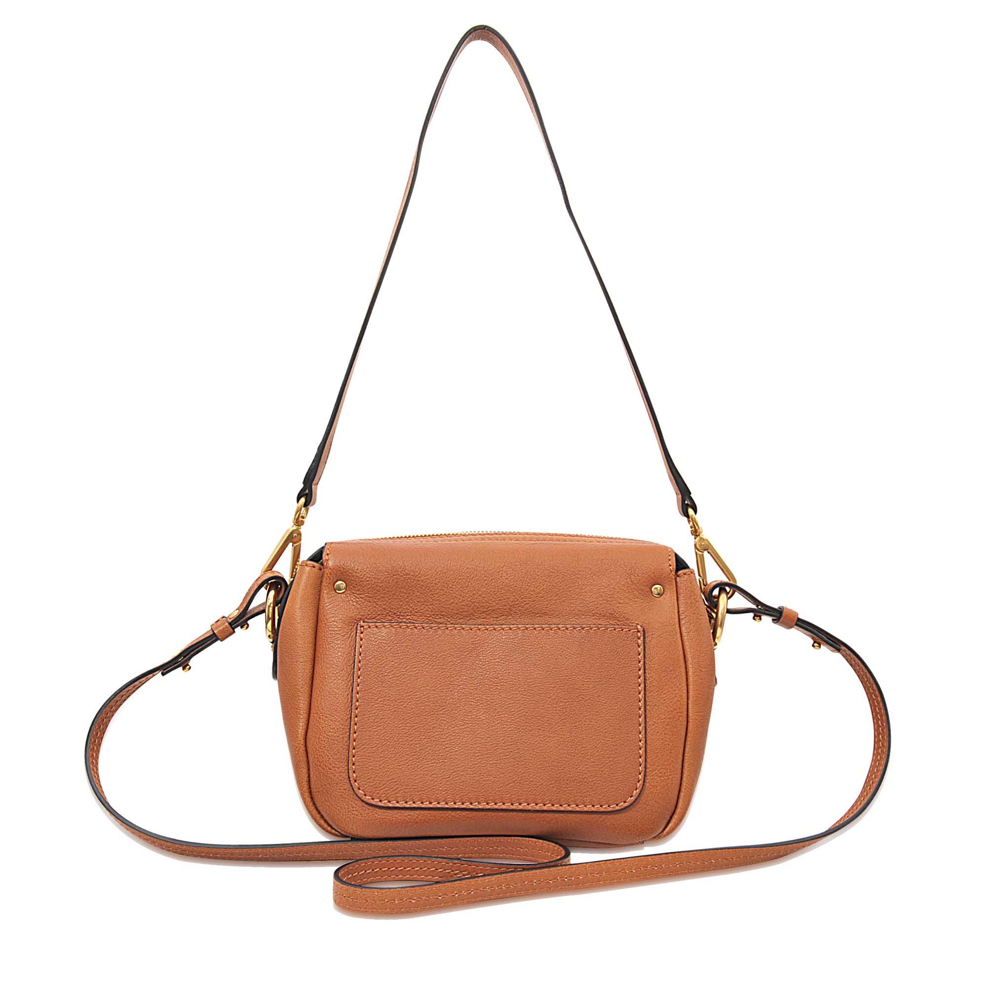 cloe handbag - jodie camera bag in grained calfskin