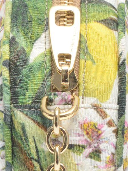 Dolce Amp Gabbana Glam Floral Brocade Crossbody Bag In Green Lyst