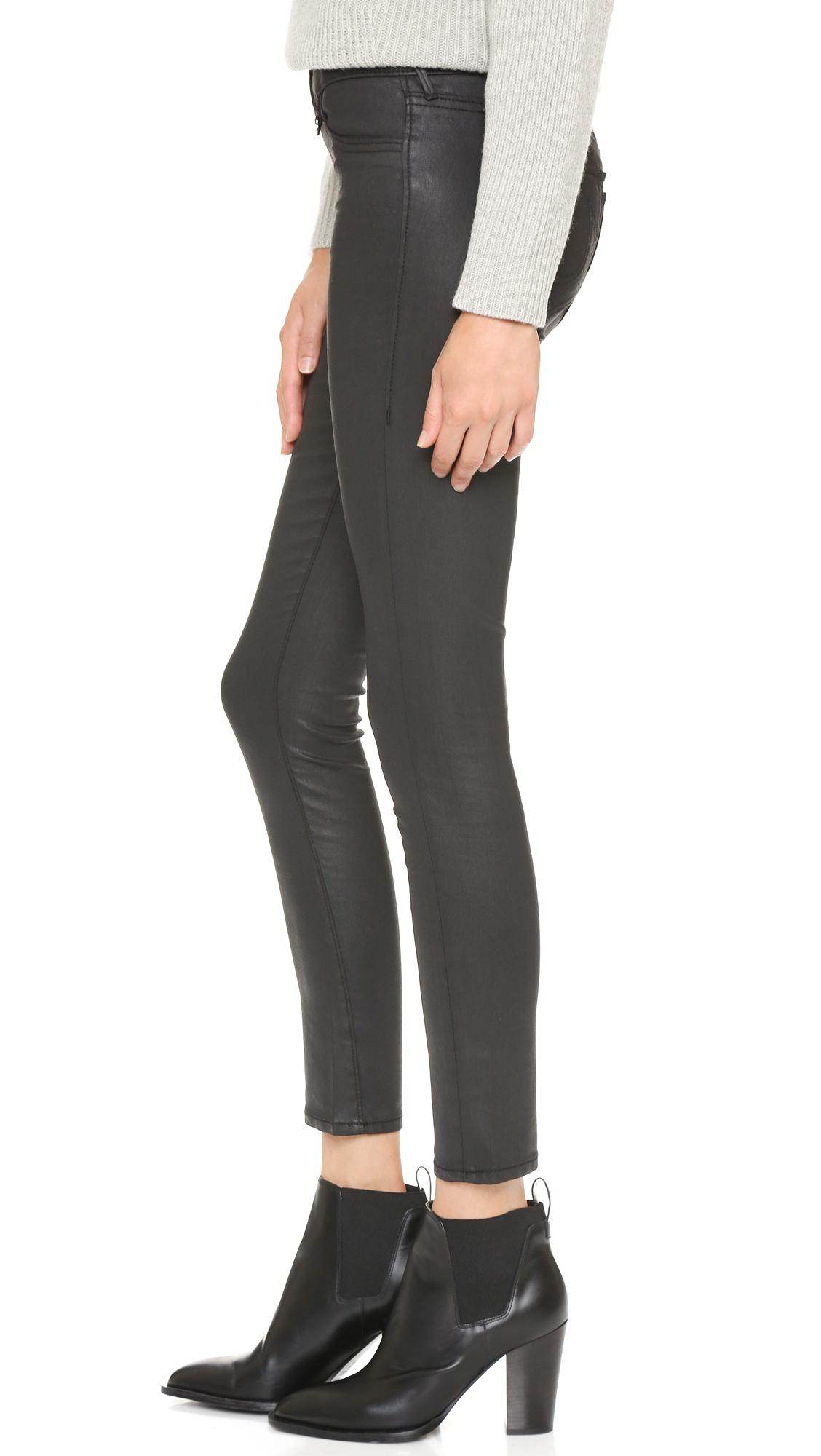 e77b7442c5d0e True Religion Runway Legging Super Skinny Jeans in Black - Lyst