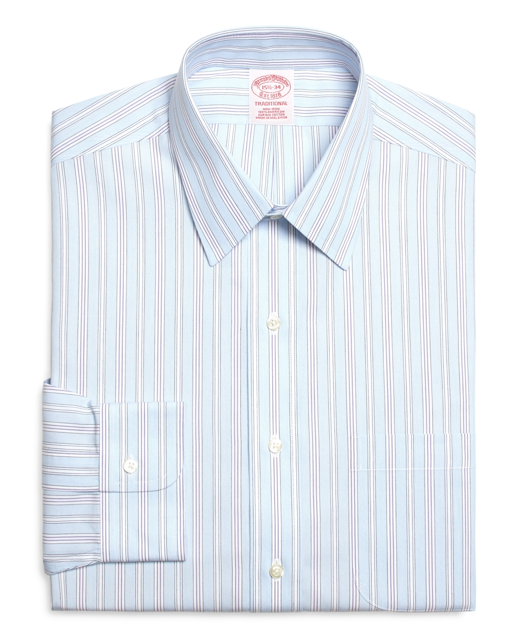 Lyst Brooks Brothers Non Iron Traditional Fit Hairline