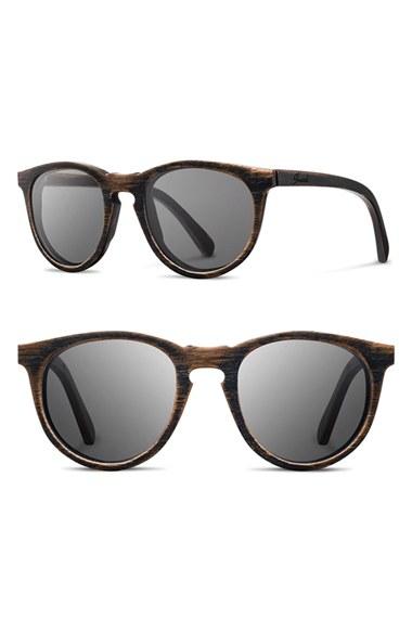 Shwood 'belmont' 51mm Wood Sunglasses