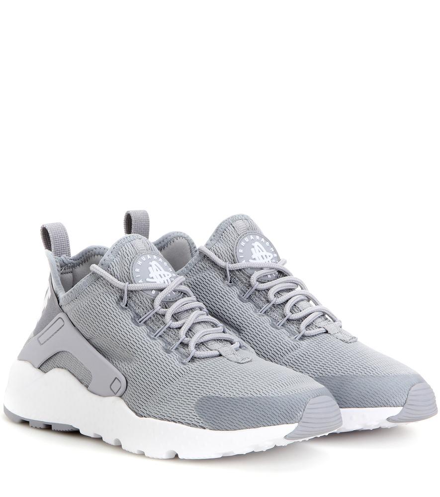 2ee9260dba0 ... get lyst nike air huarache run ultra sneakers in gray 8e17a c230c