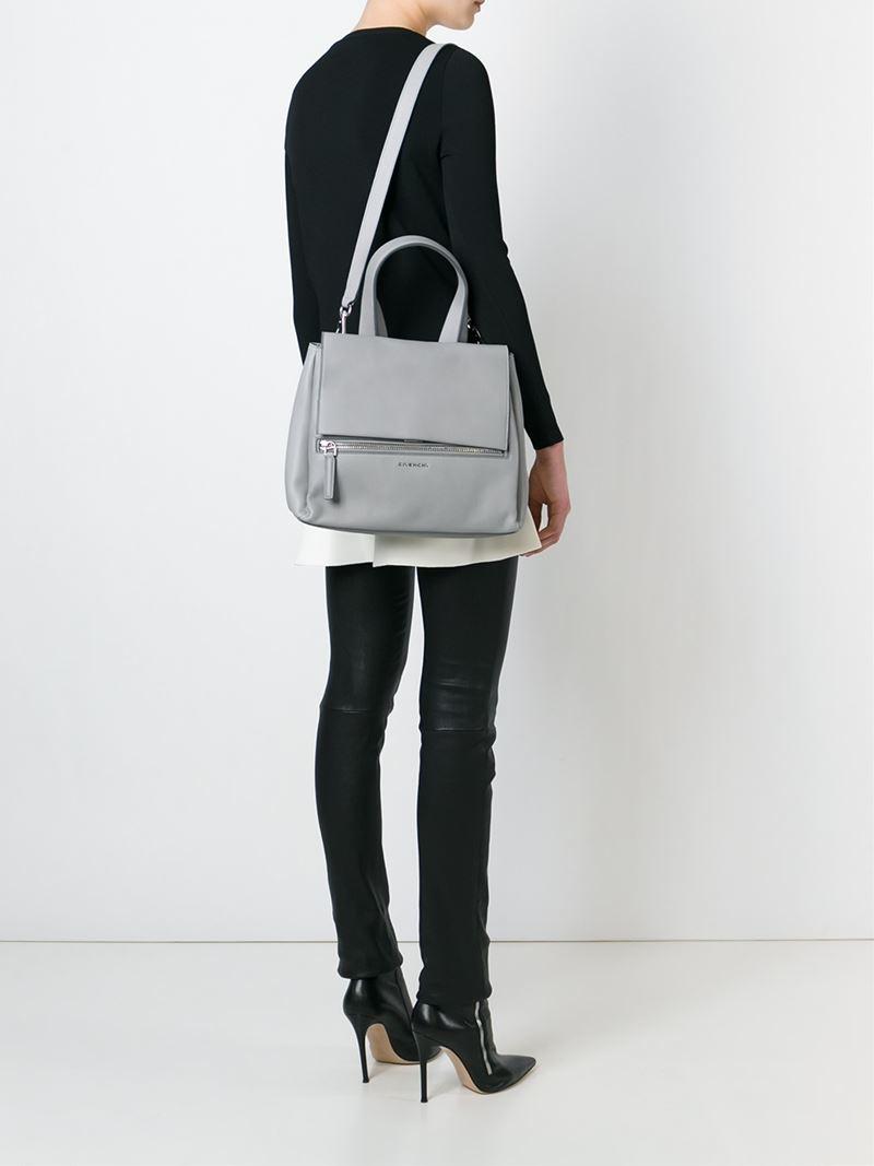 f269f02e2b Lyst - Givenchy Small  pandora Pure  Tote in Gray