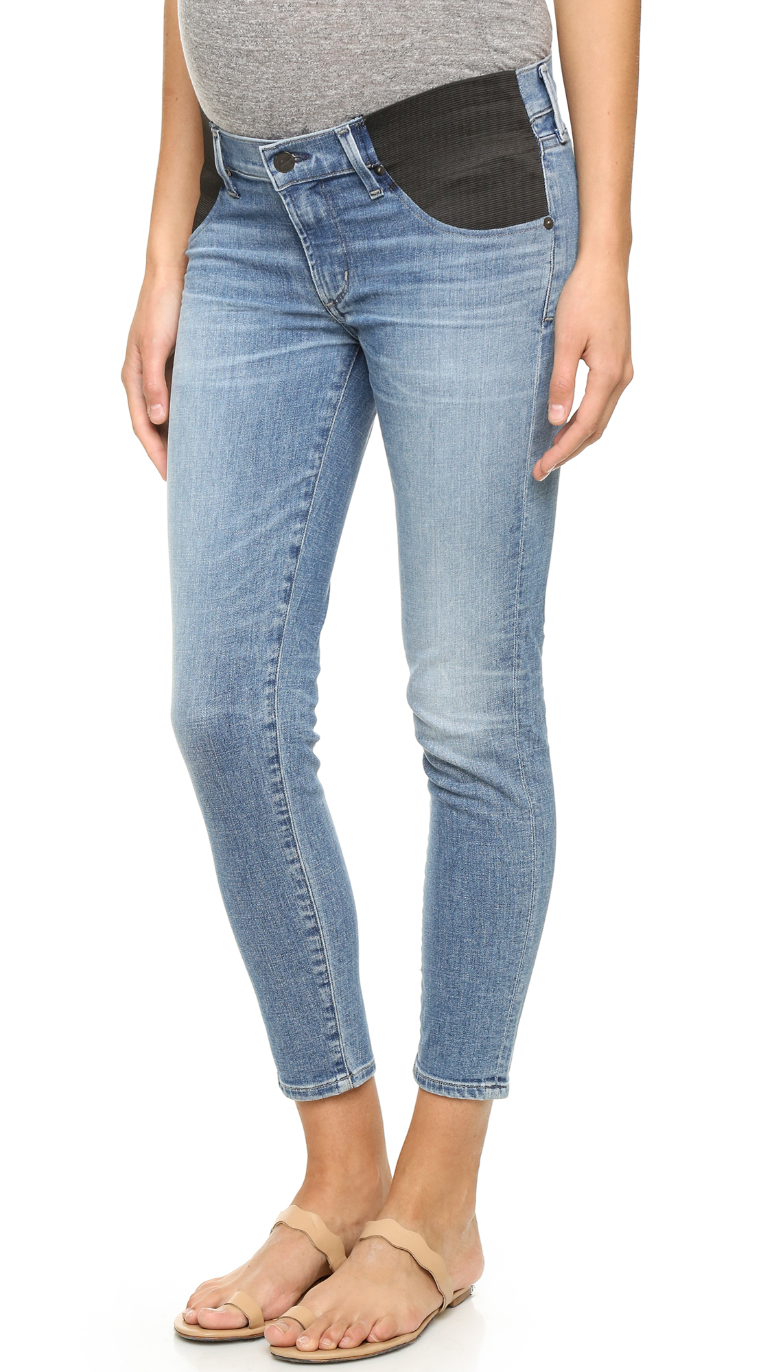 Citizens of humanity Avedon Maternity Jeans in Blue | Lyst