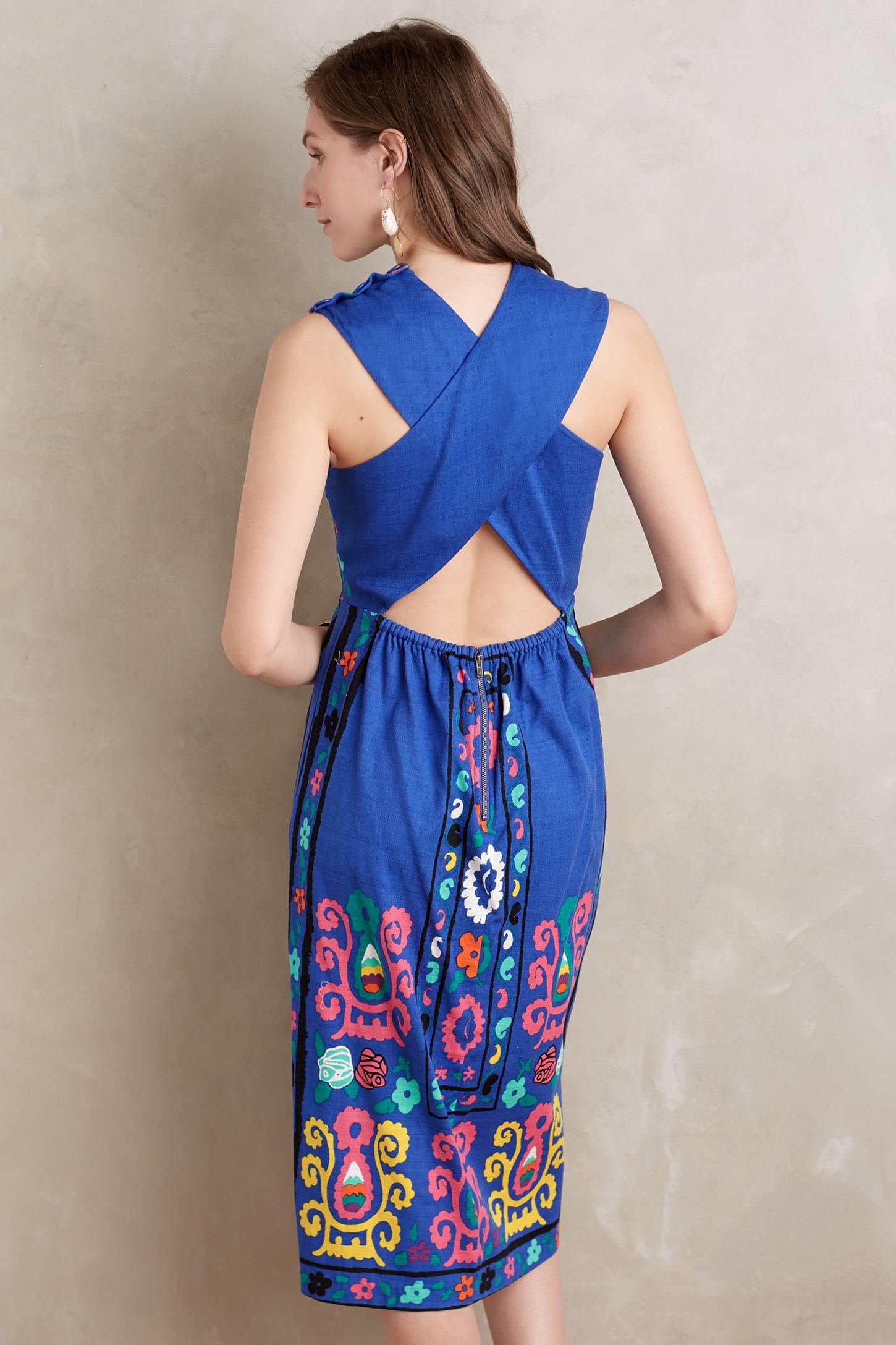 Tracy reese lace peplum dress
