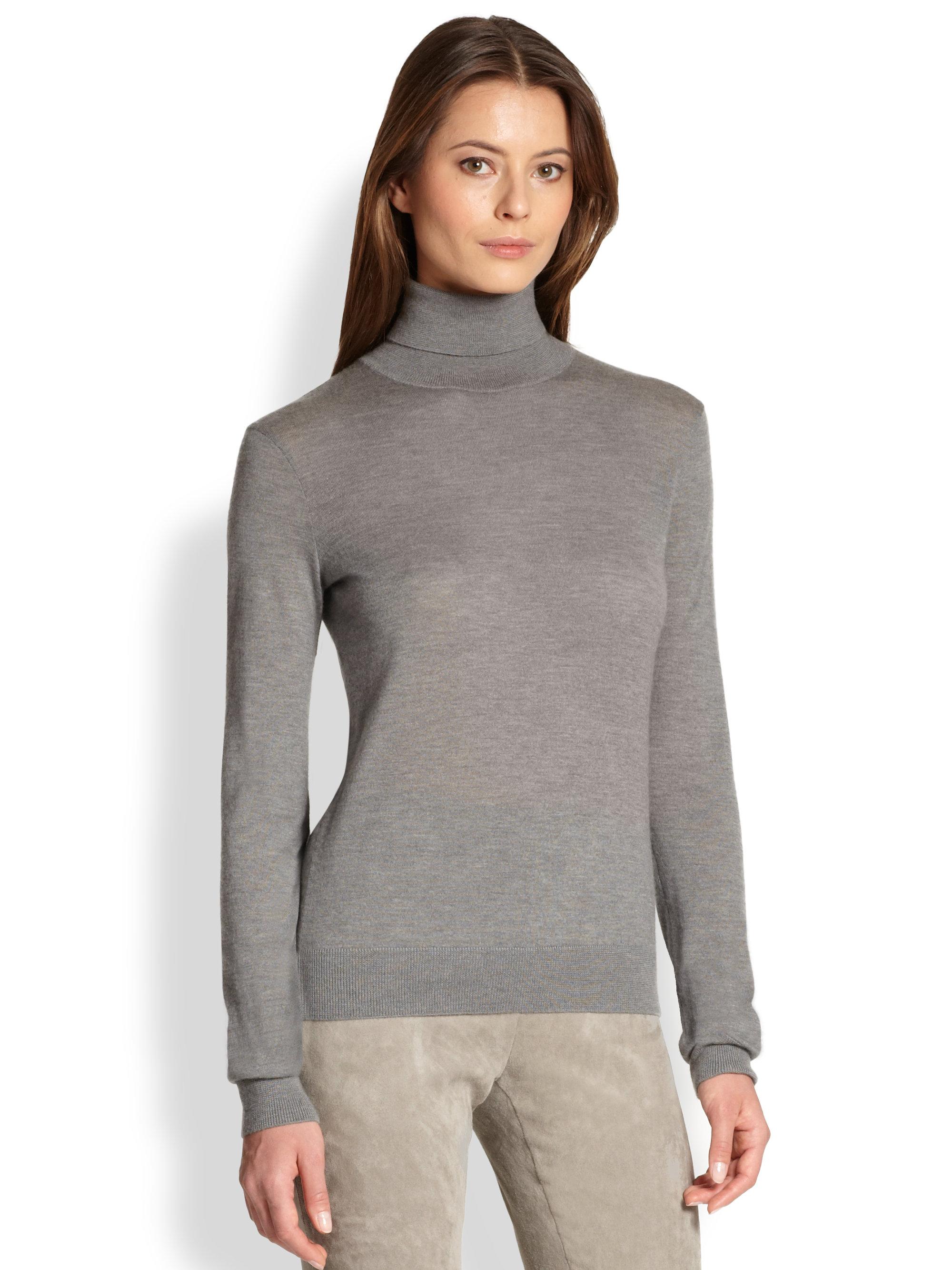 Cashmere womens grey sweater for dubai