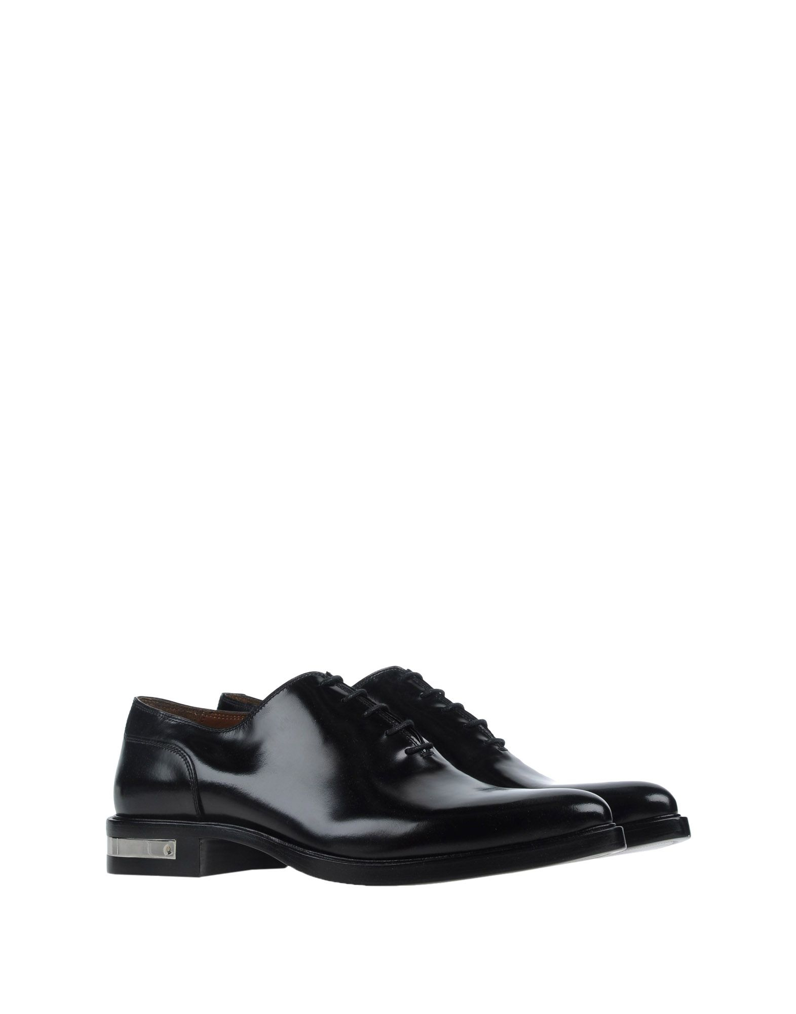 givenchy lace up shoes in black for lyst