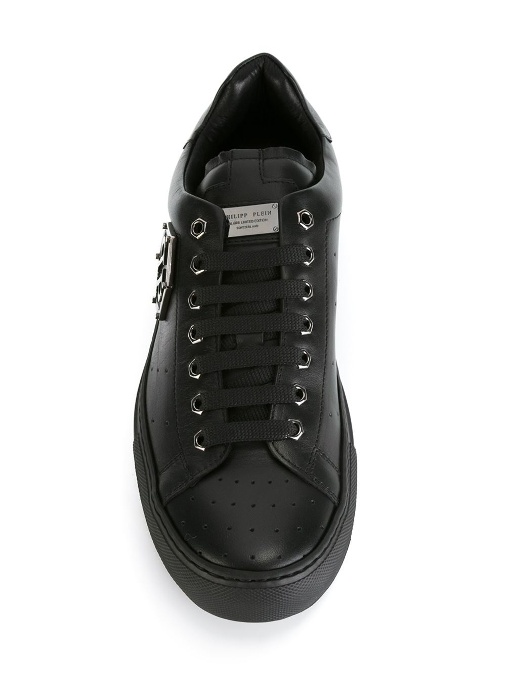 low top sneakers - Black Philipp Plein U0jGDuQWY