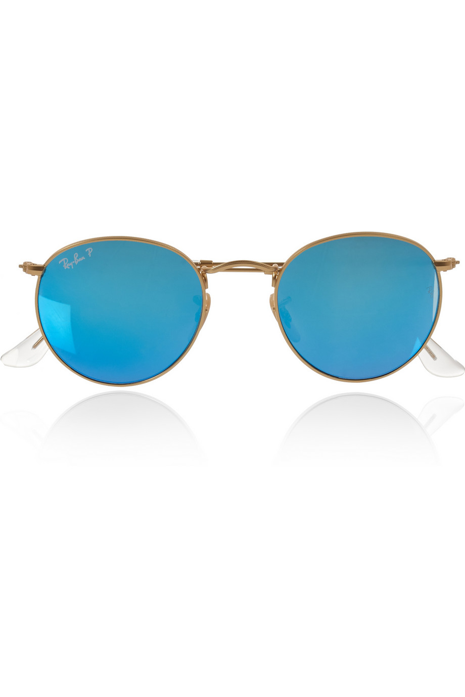 ray ban round sunglasses polarized  gallery
