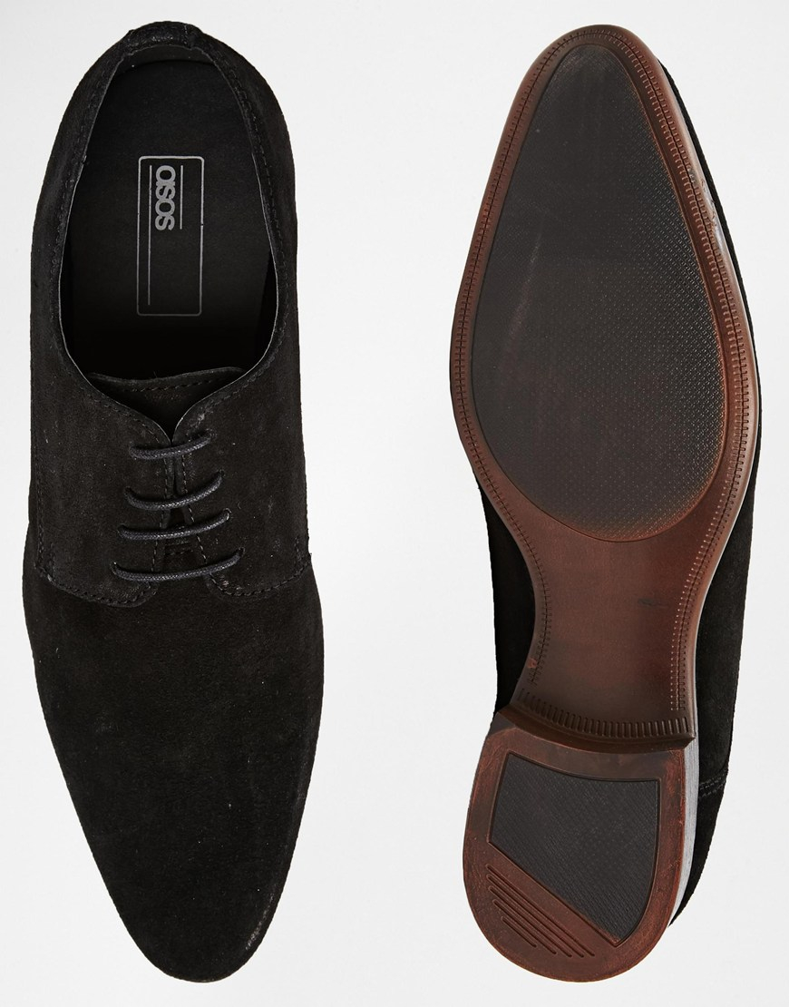 Chaussures Derby Asos En Daim Marron - 4hCLnLn