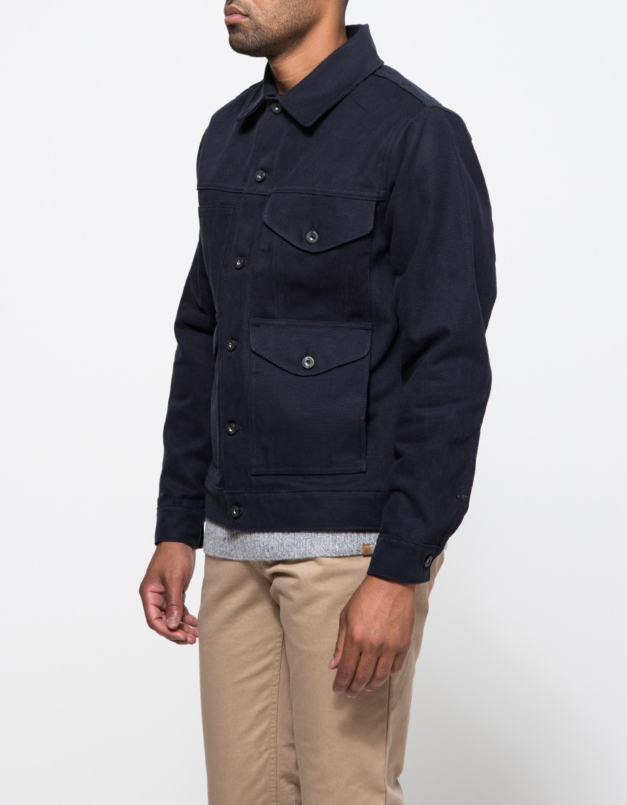Filson Short Cruiser Jacket in Black for Men | Lyst