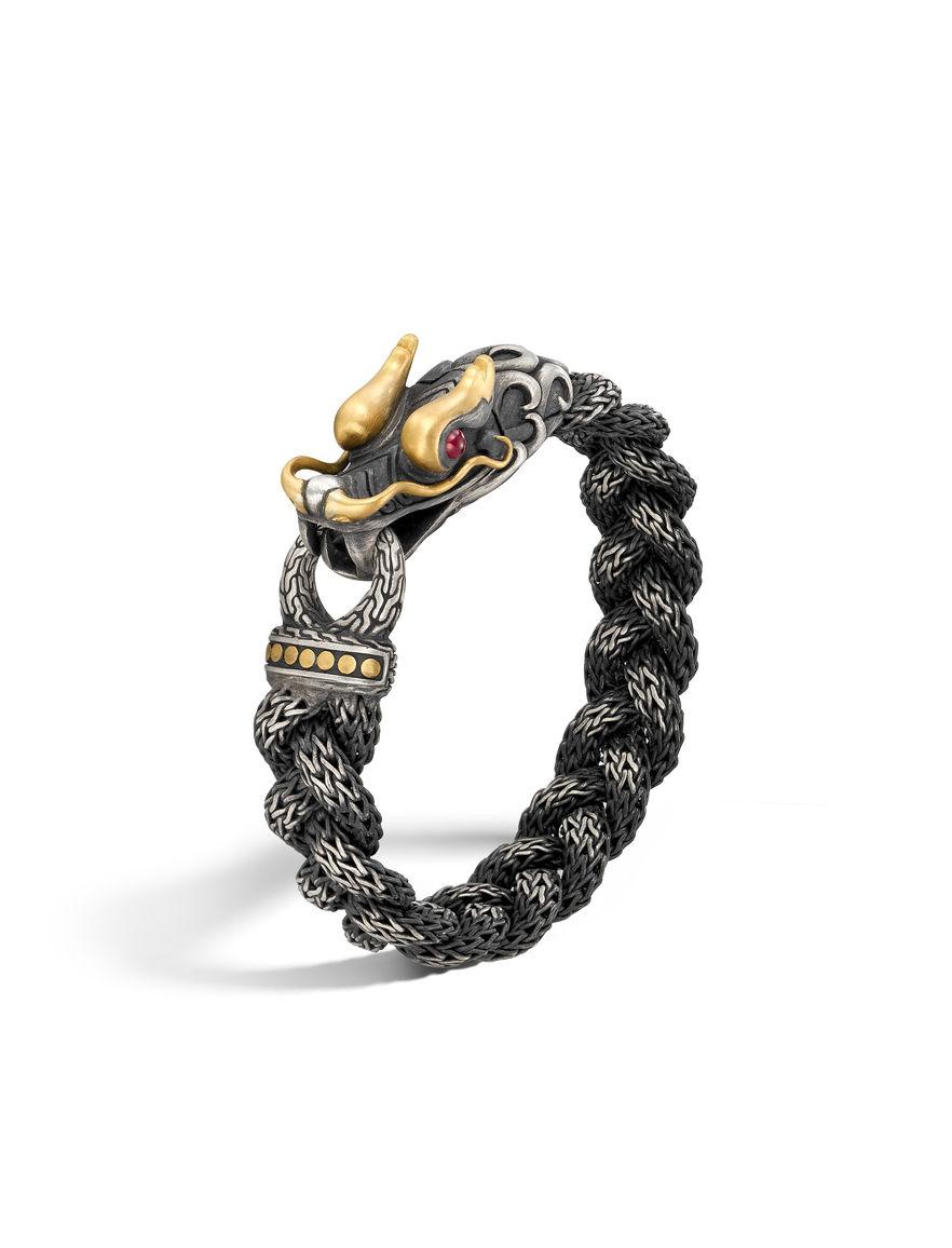 John Hardy Mens Legends Naga Dragon Bead Bracelet XyDMZl