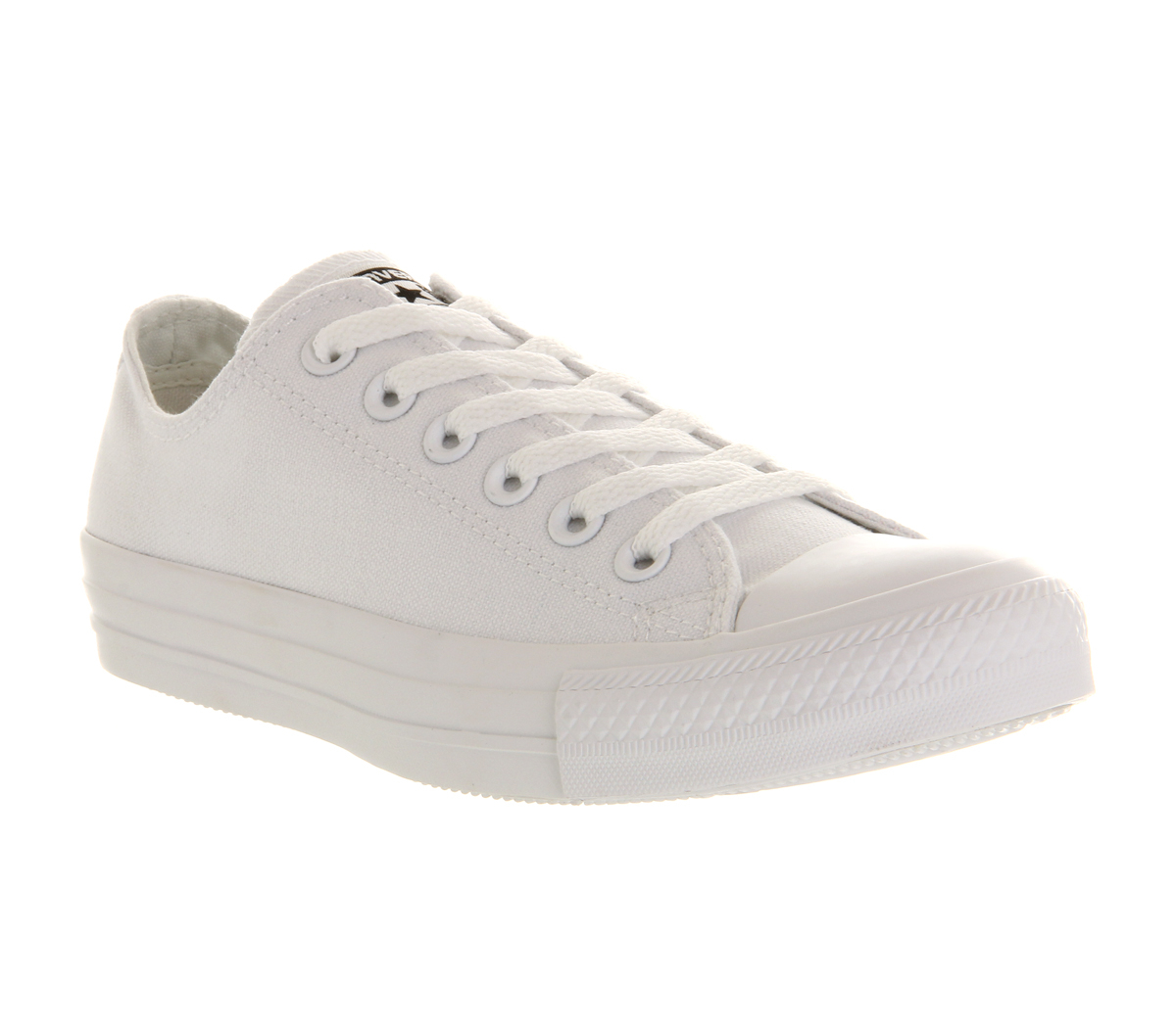 converse all star low in white for men lyst