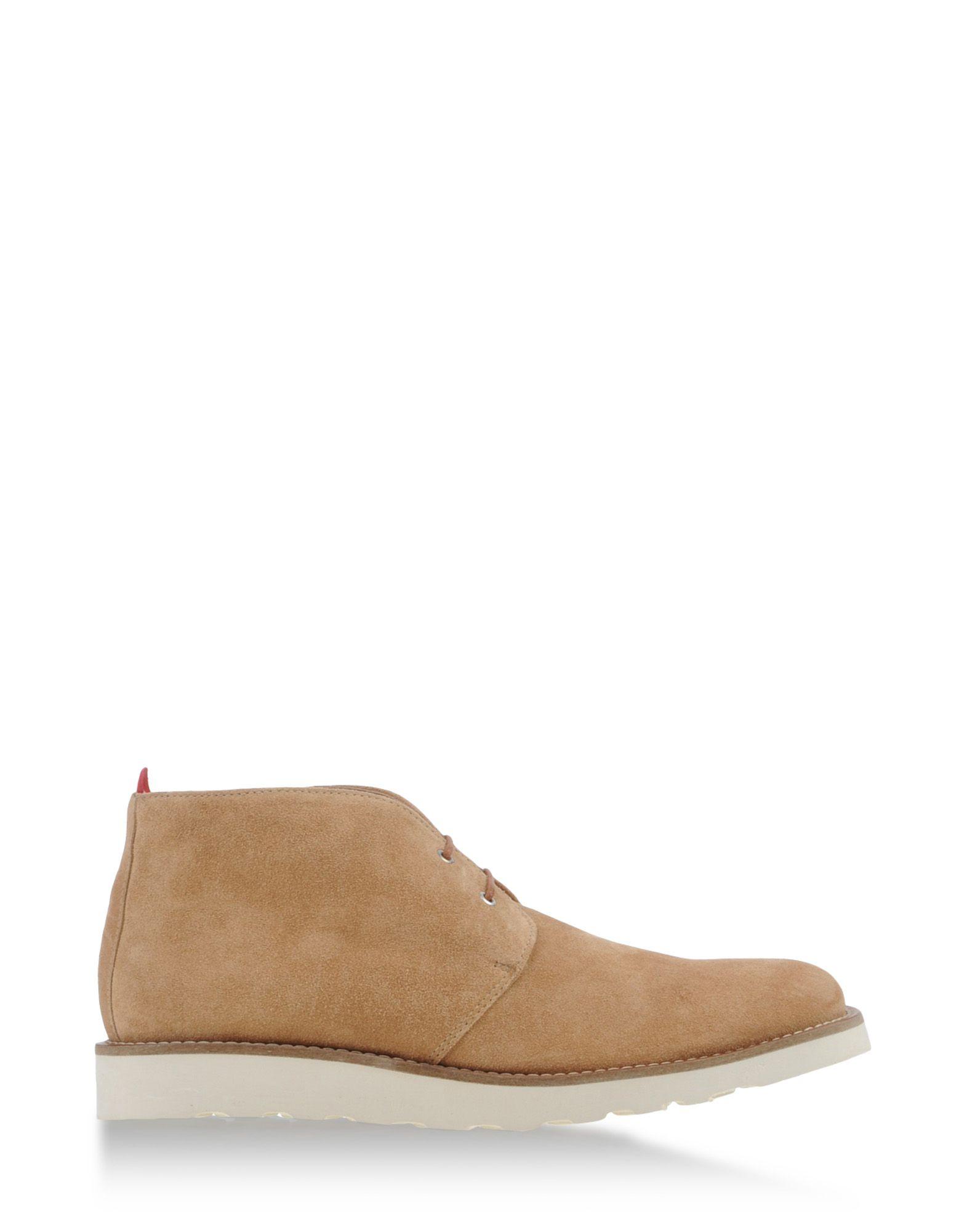 oliver spencer high top dress shoes in beige for