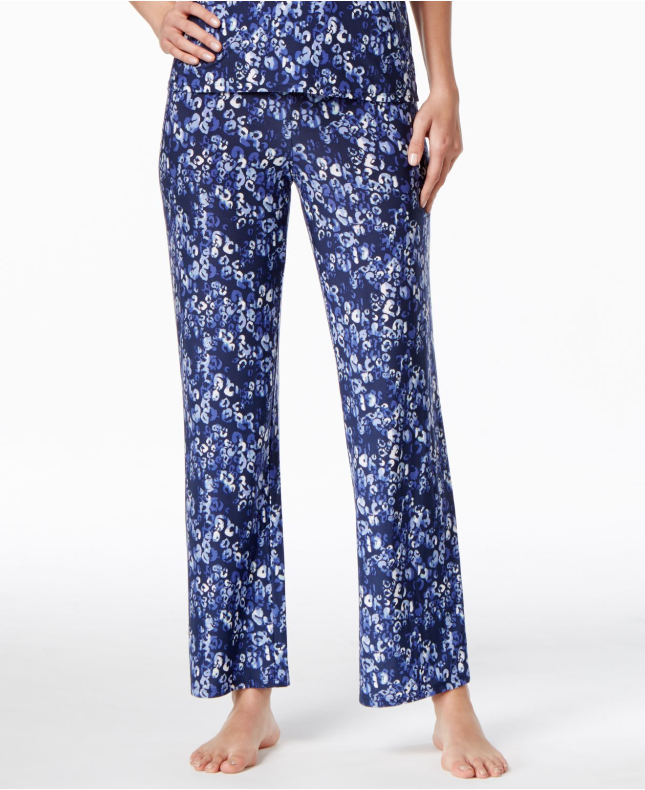 Lyst Alfani Printed Knit Pajama Pants Only At Macy S In