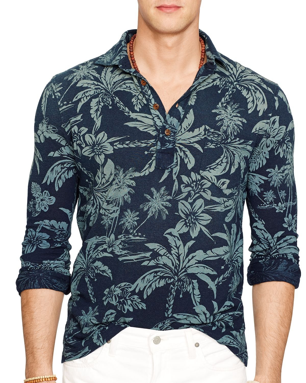 Lyst Ralph Lauren Polo Hawaiian Print Mesh Estate Shirt