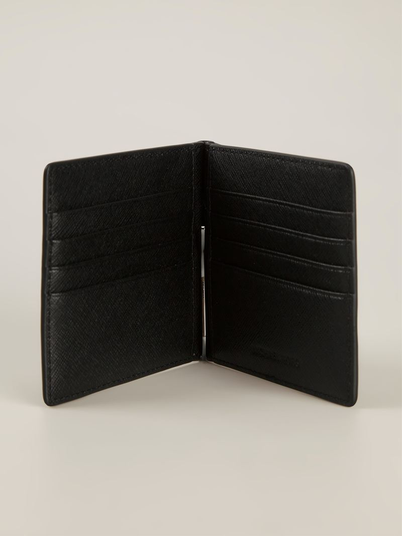 ade6056c1b55 Lyst - Michael Kors  jet Set  Card Holder in Black for Men