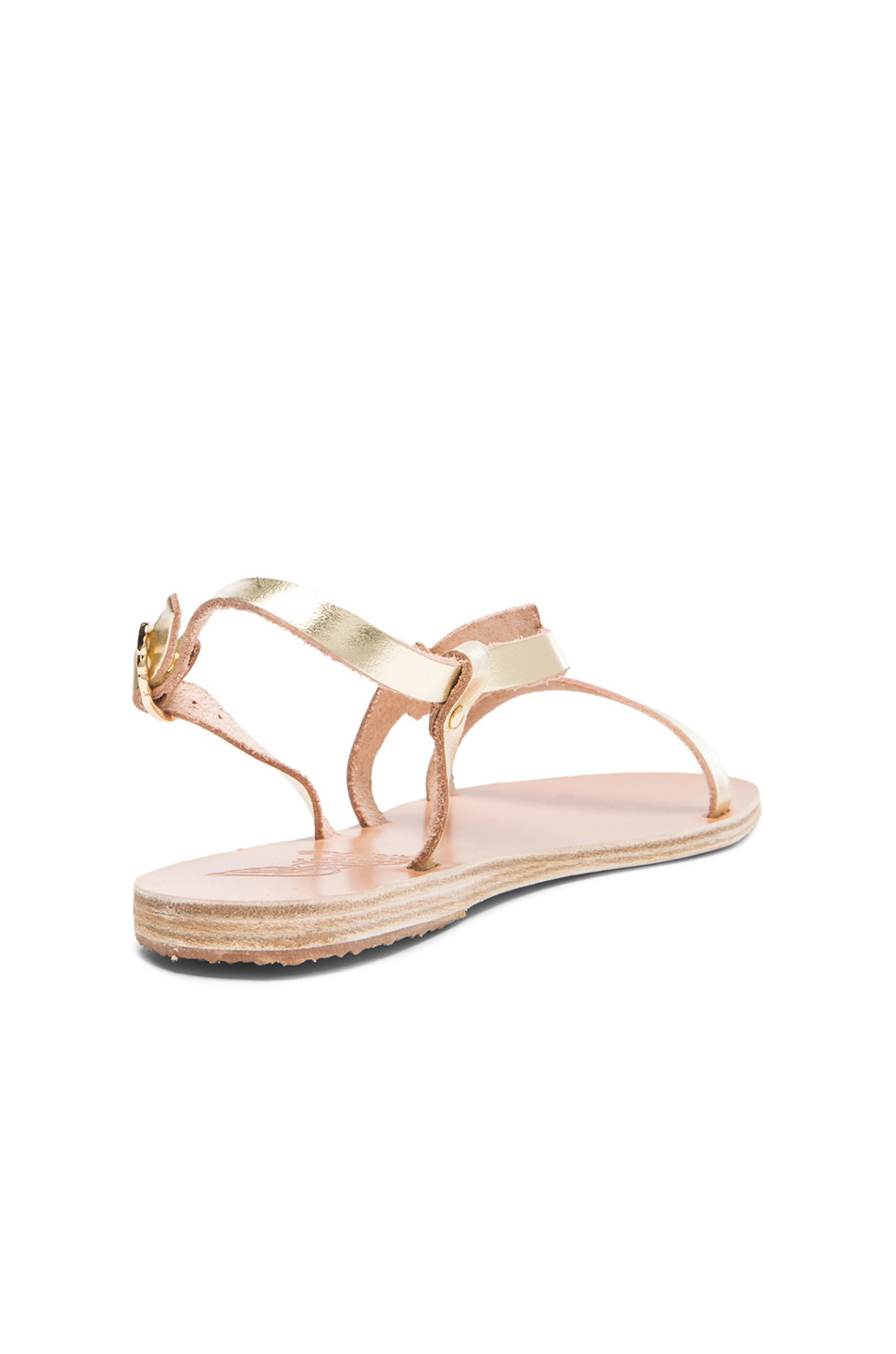 Lyst Ancient Greek Sandals Fotini Leather Sandals In