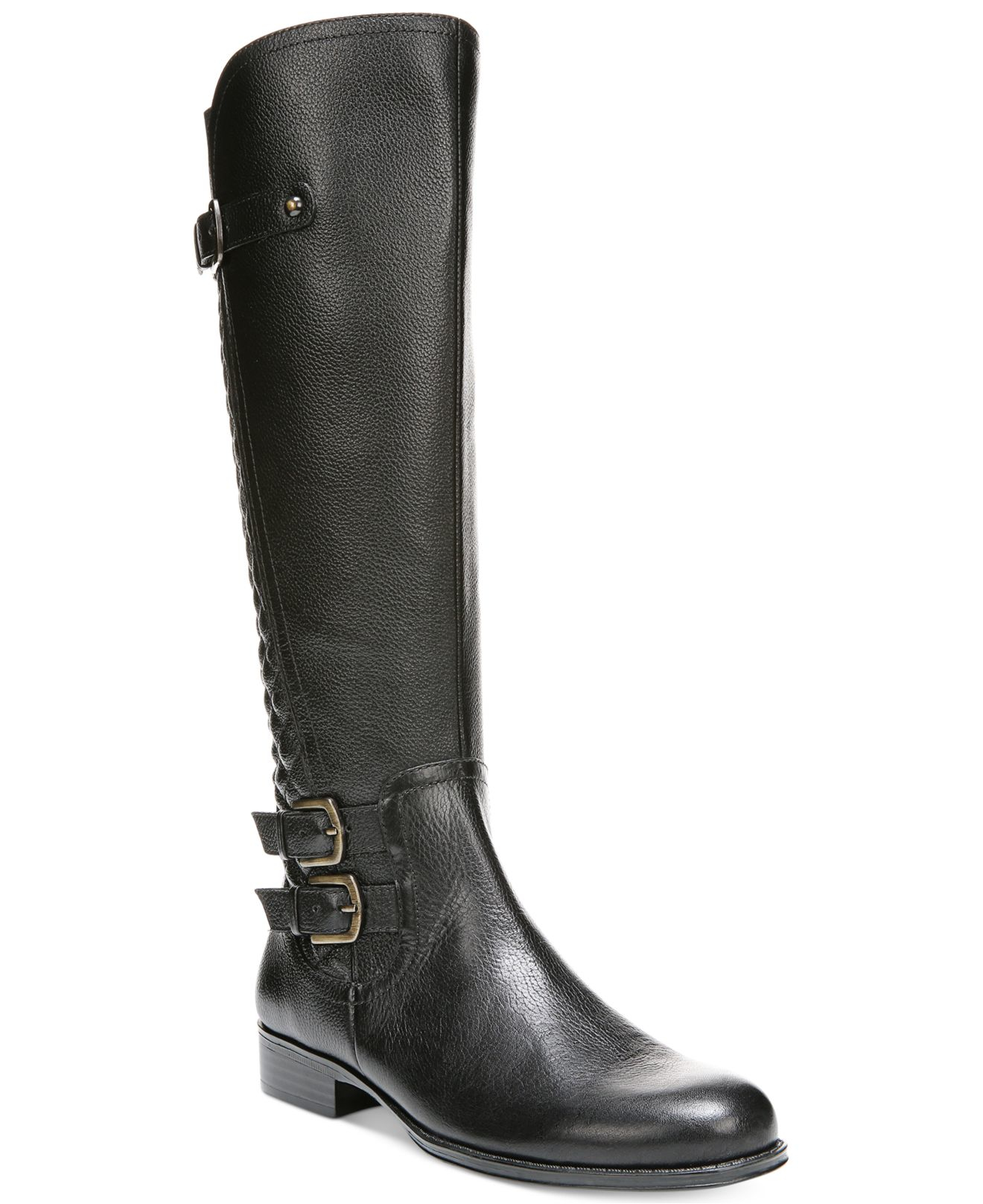 Naturalizer Boots. Want to make a statement with Naturalizer boots? Discover boots in a variety of styles and colors that will instantly refresh any outfit. From shooties to knee-high styles, you are sure to find a pair that suit both your feet and your style, whatever occasion you are wearing them too.