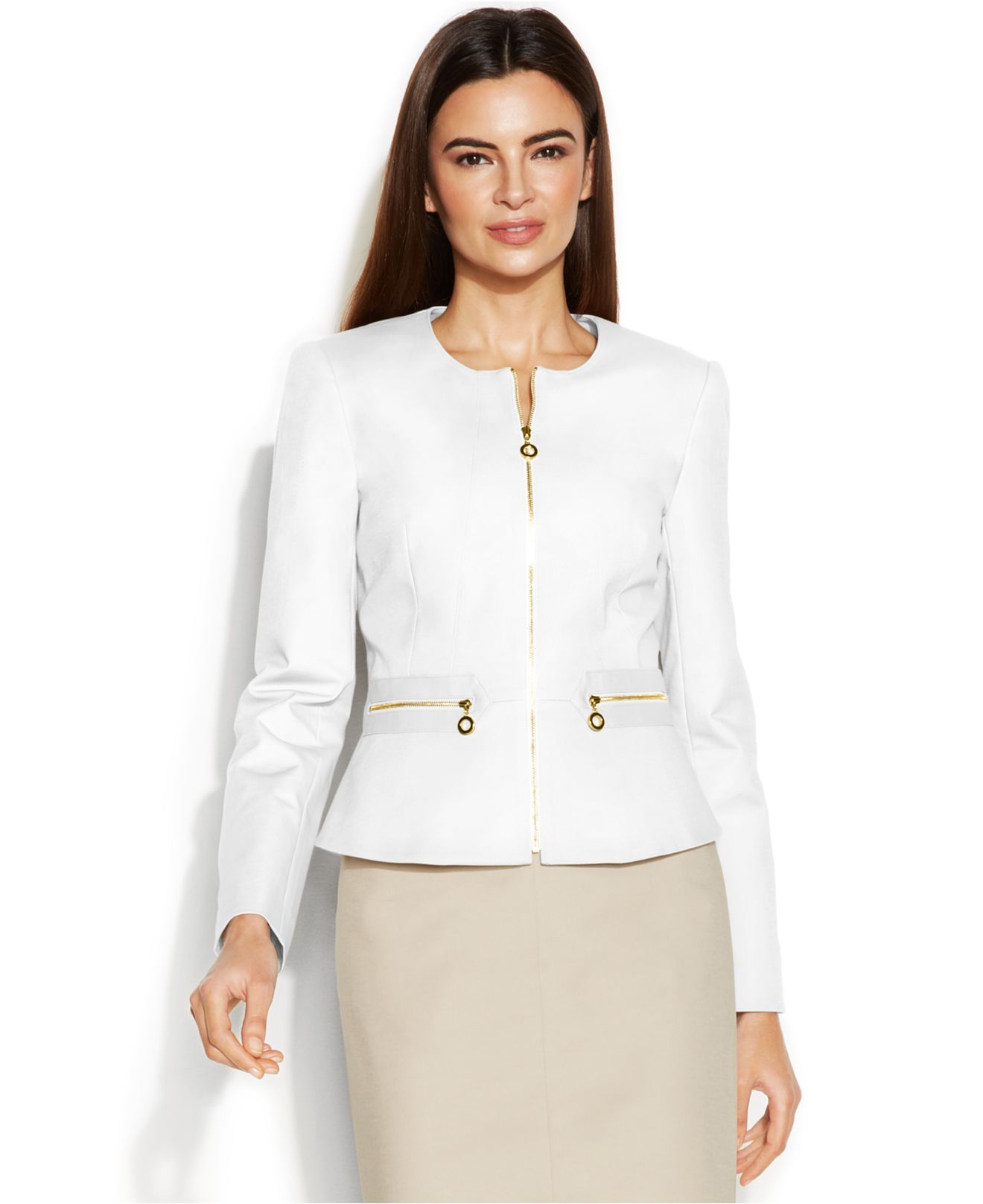 Find women's collarless suits at ShopStyle. Shop the latest collection of women's collarless suits from the most popular stores - all in one place.