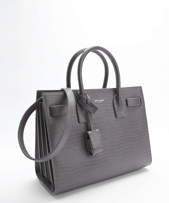 ysl classic duffle bag - classic small sac de jour bag in fog grained leather