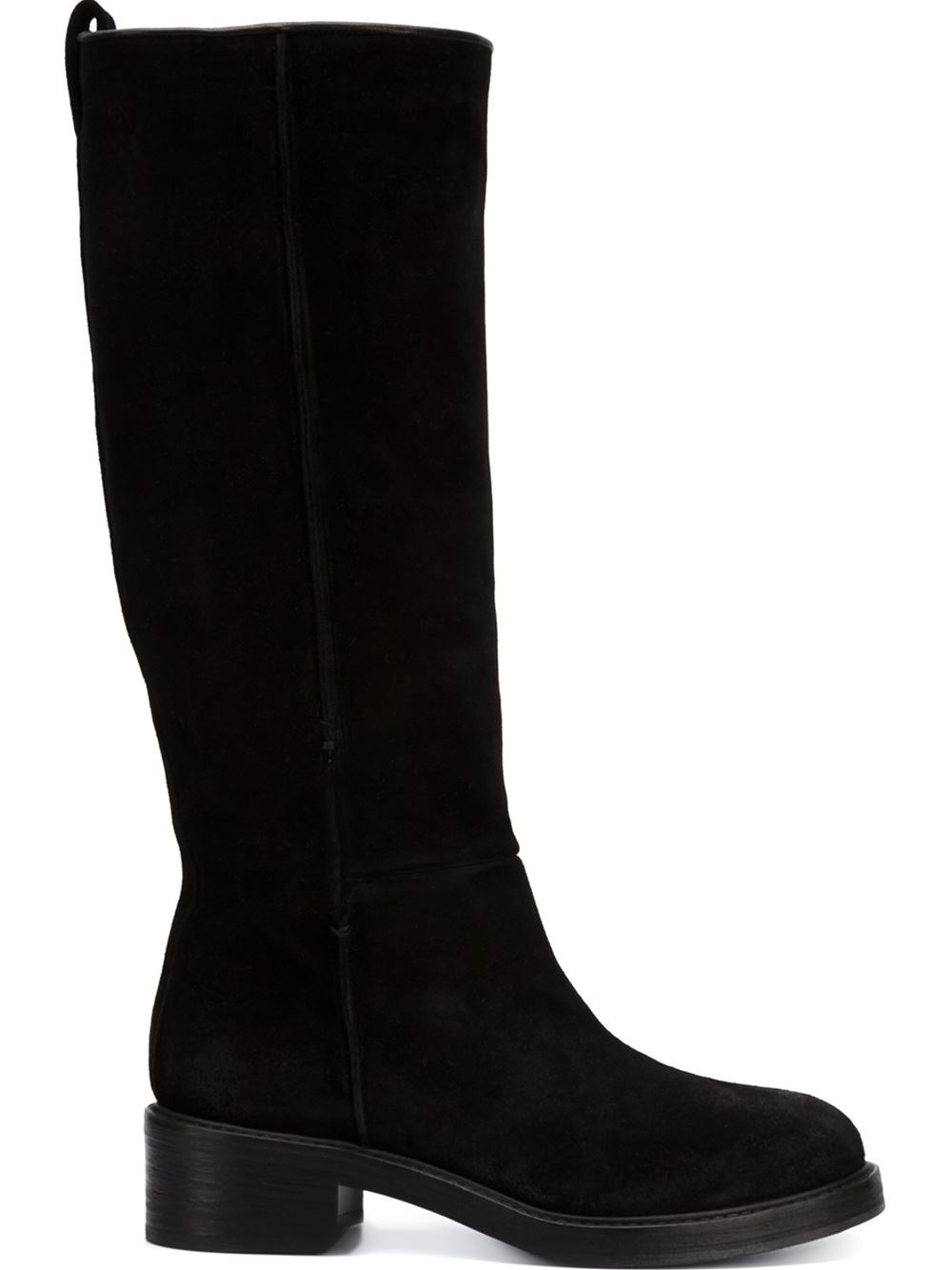 Ankle boots generally have a shaft height of less than 8 inches (20 cm), calf-length boots 8–15 inches (20–38 cm), knee-length boots 15–19 inches (38–48 cm), while over-the knee boots have shaft lengths of 19 inches (38 cm) or more; however these divisions are arbitrary and at the boundaries the decision as to whether a boot is, for example, calf-length or knee-length is largely subjective.