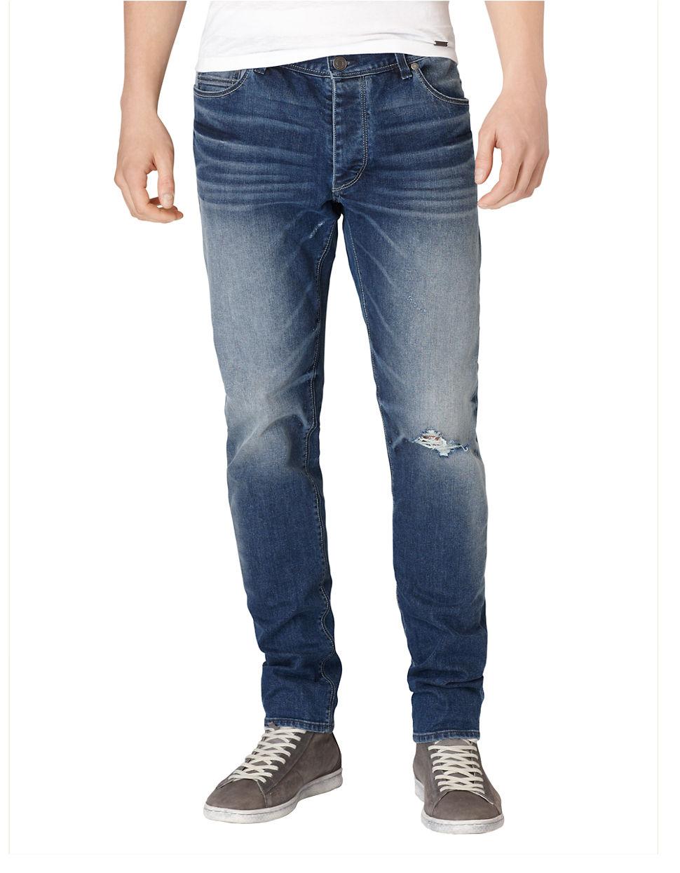 calvin klein jeans deep sky slim straight leg jeans in. Black Bedroom Furniture Sets. Home Design Ideas