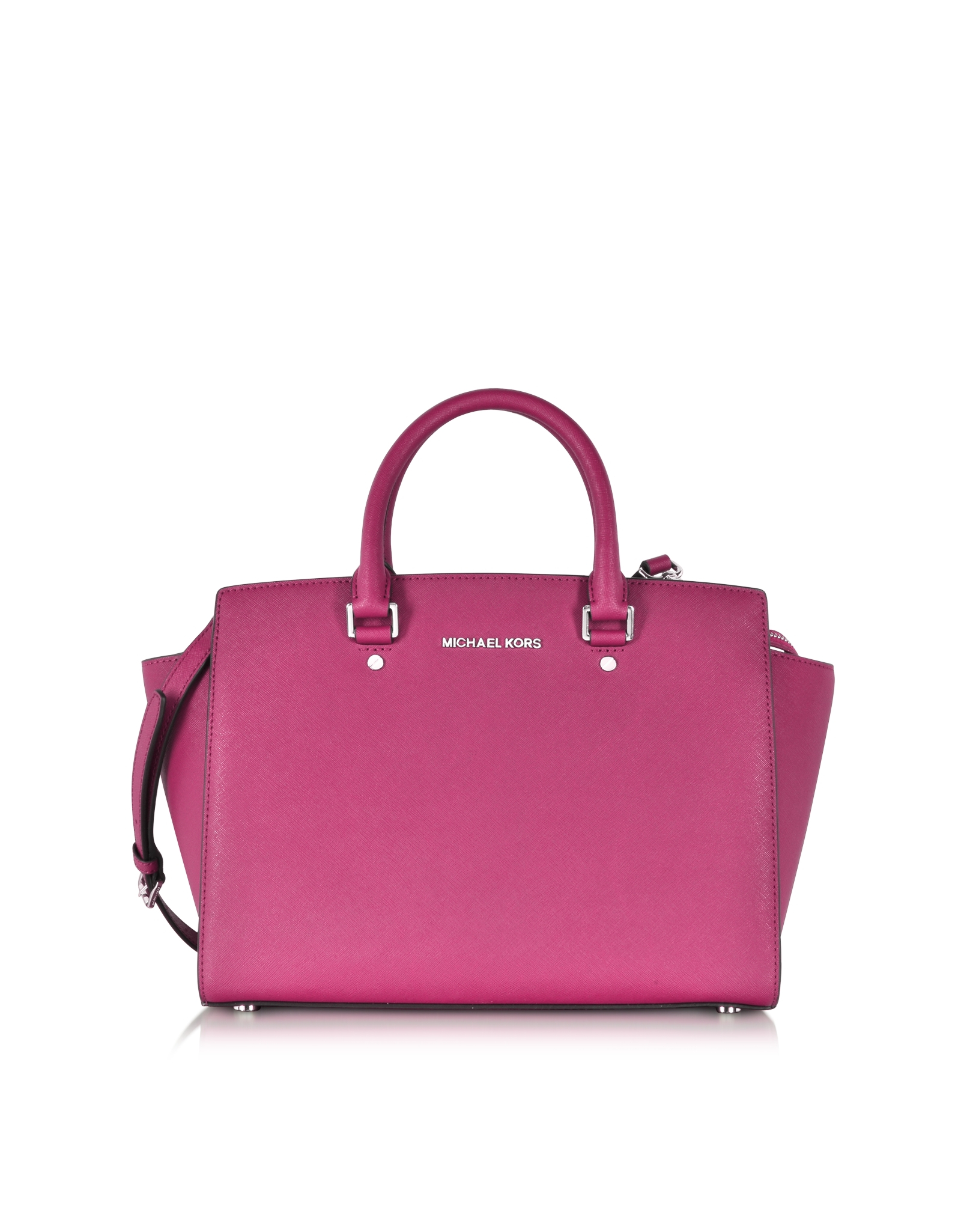 michael kors selma pink michael kors selma pink tote bag in pink lyst michael kors selma large. Black Bedroom Furniture Sets. Home Design Ideas
