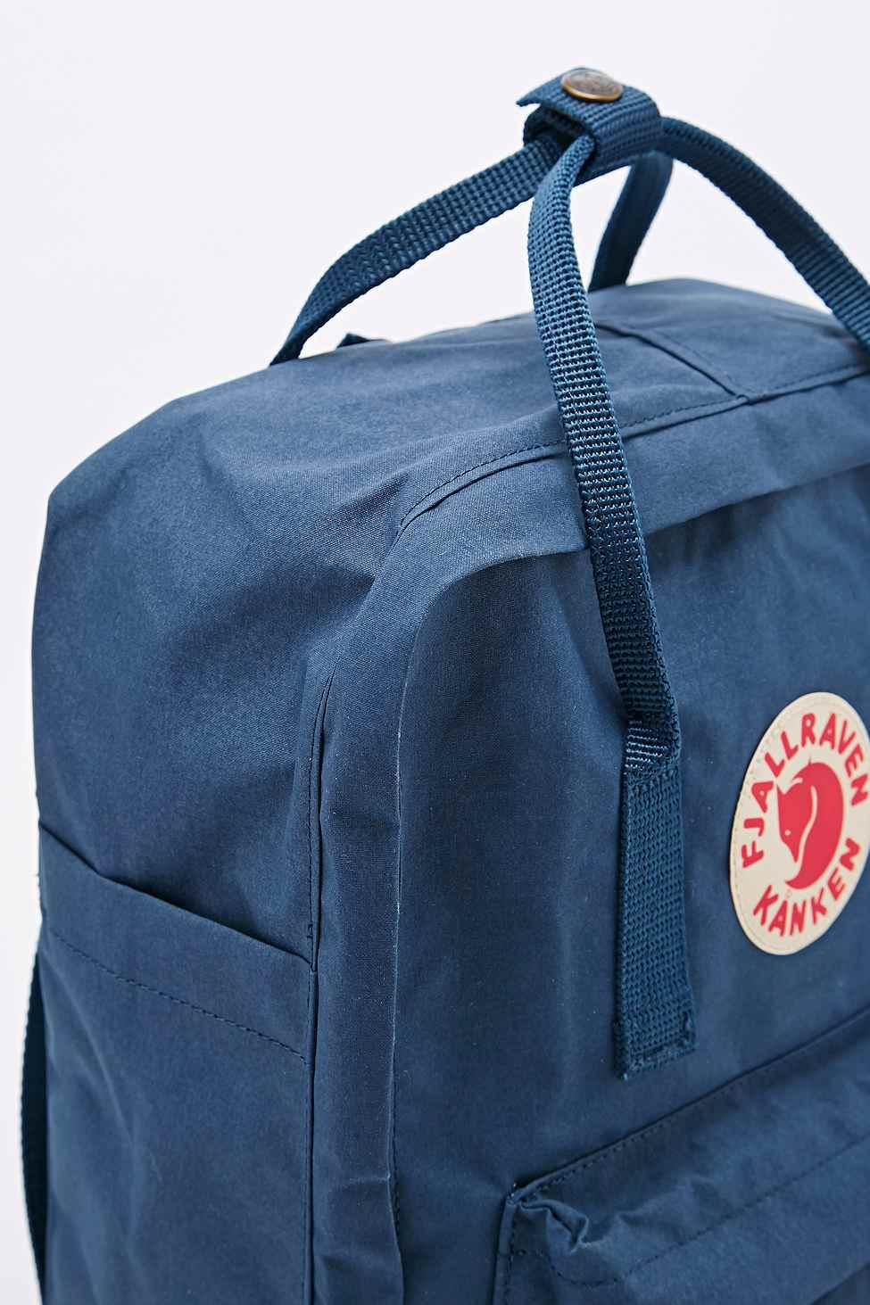 fjällräven rucksack royal blue