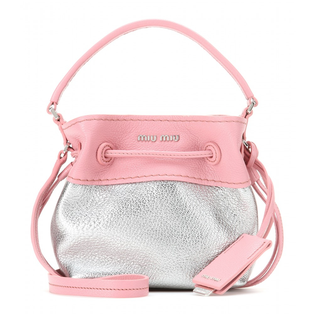 Gallery. Previously sold at  Mytheresa · Women s Bucket Bags Women s Miu  Miu Shoulder ... 31eeb2f43fb38