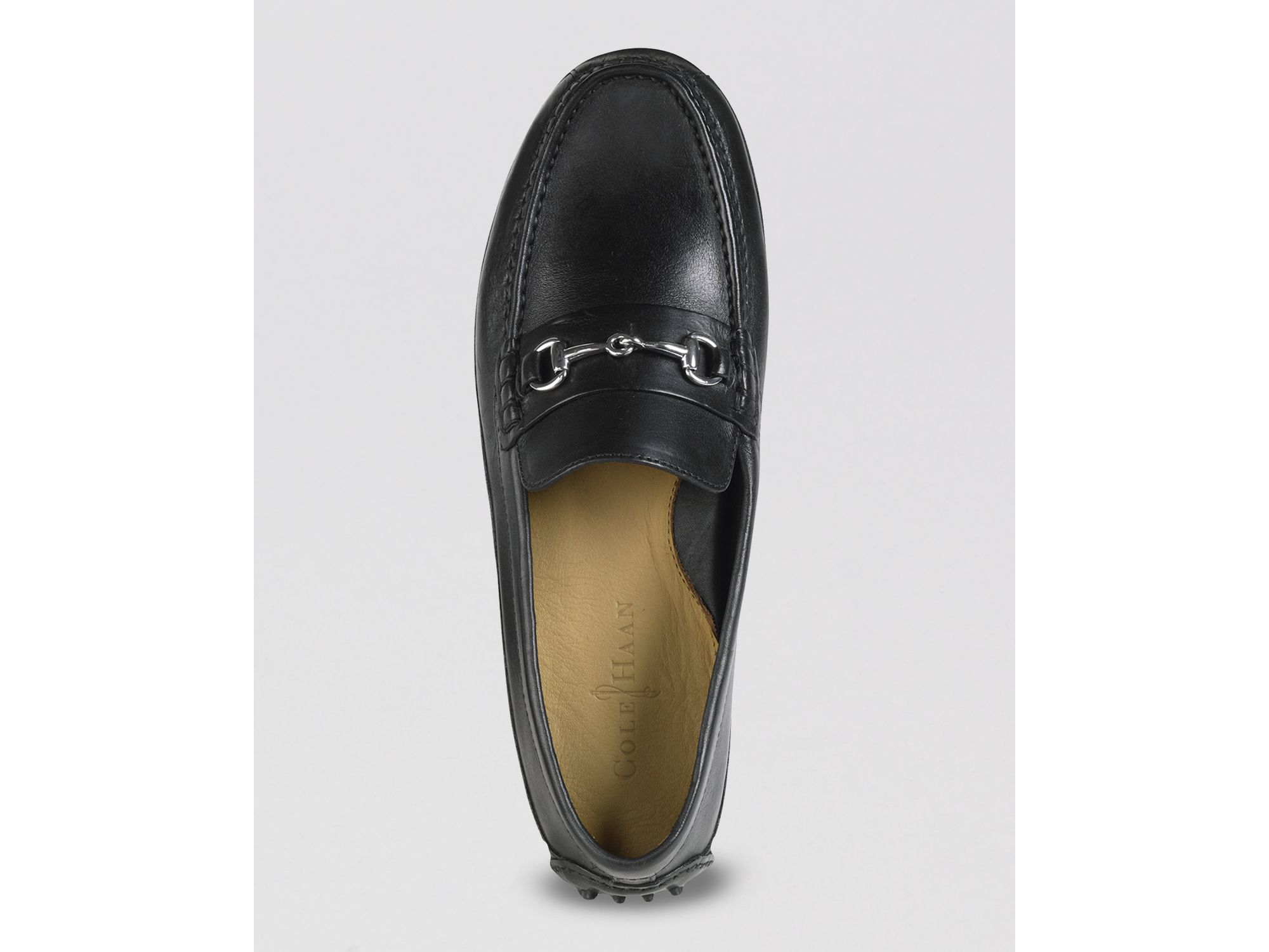 3d84bf631 Lyst - Cole Haan Grant Canoe Bit Driving Loafers in Black for Men
