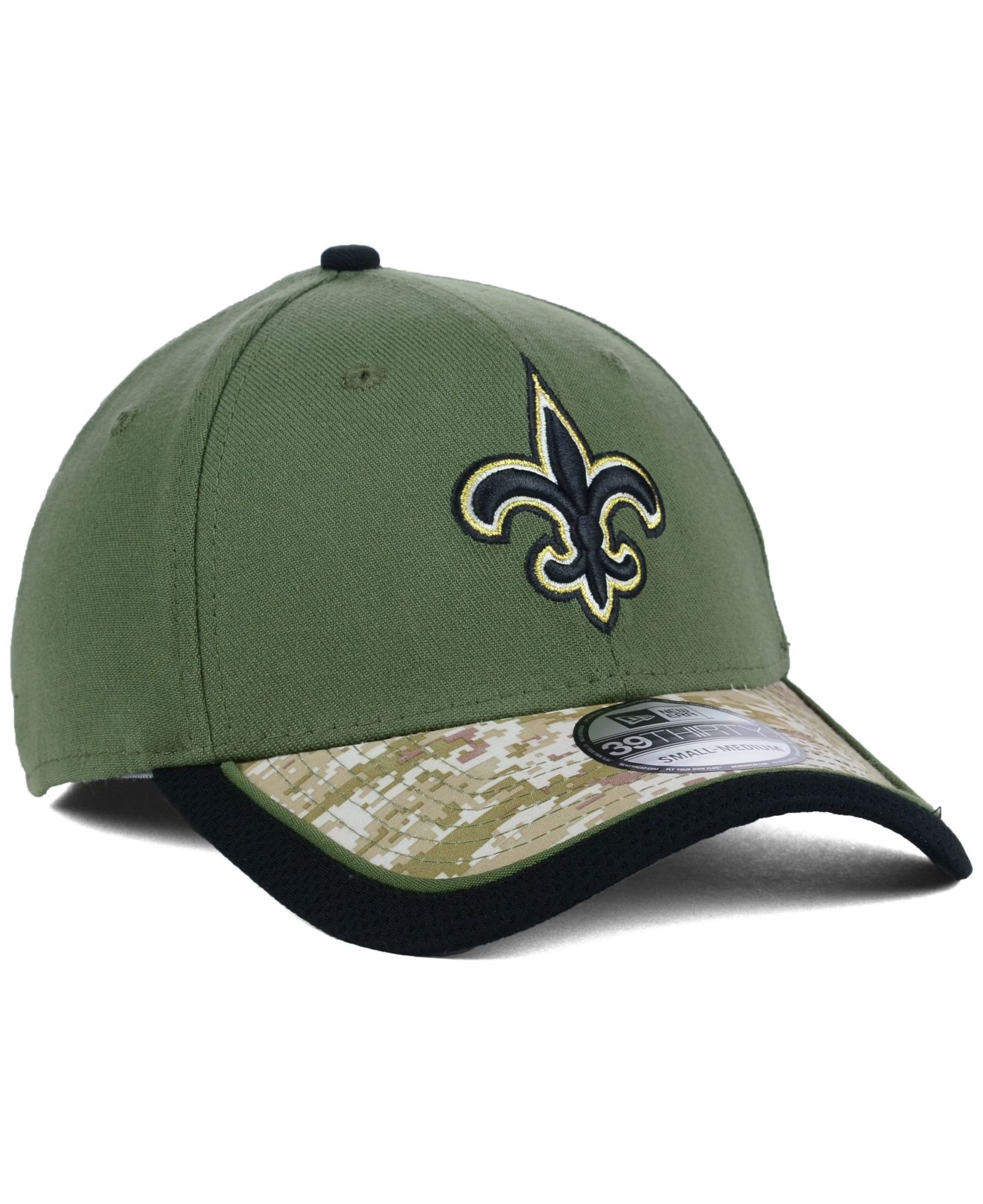 7d2423603 Lyst - Ktz New Orleans Saints Salute To Service 39Thirty Cap in ...