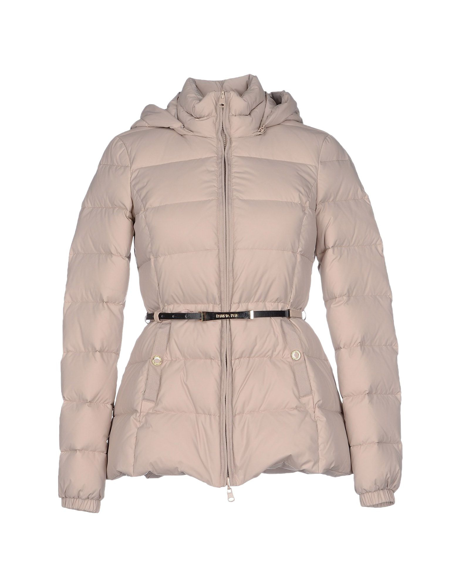 870b73dca6 Patrizia Pepe Down Jacket in Natural - Lyst