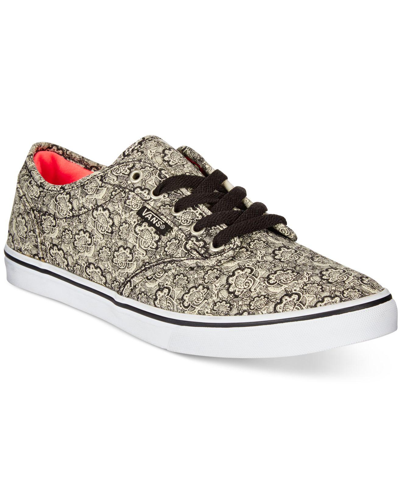 0ee1648172 Lyst - Vans Women s Atwood Low Henna Sneakers in Black