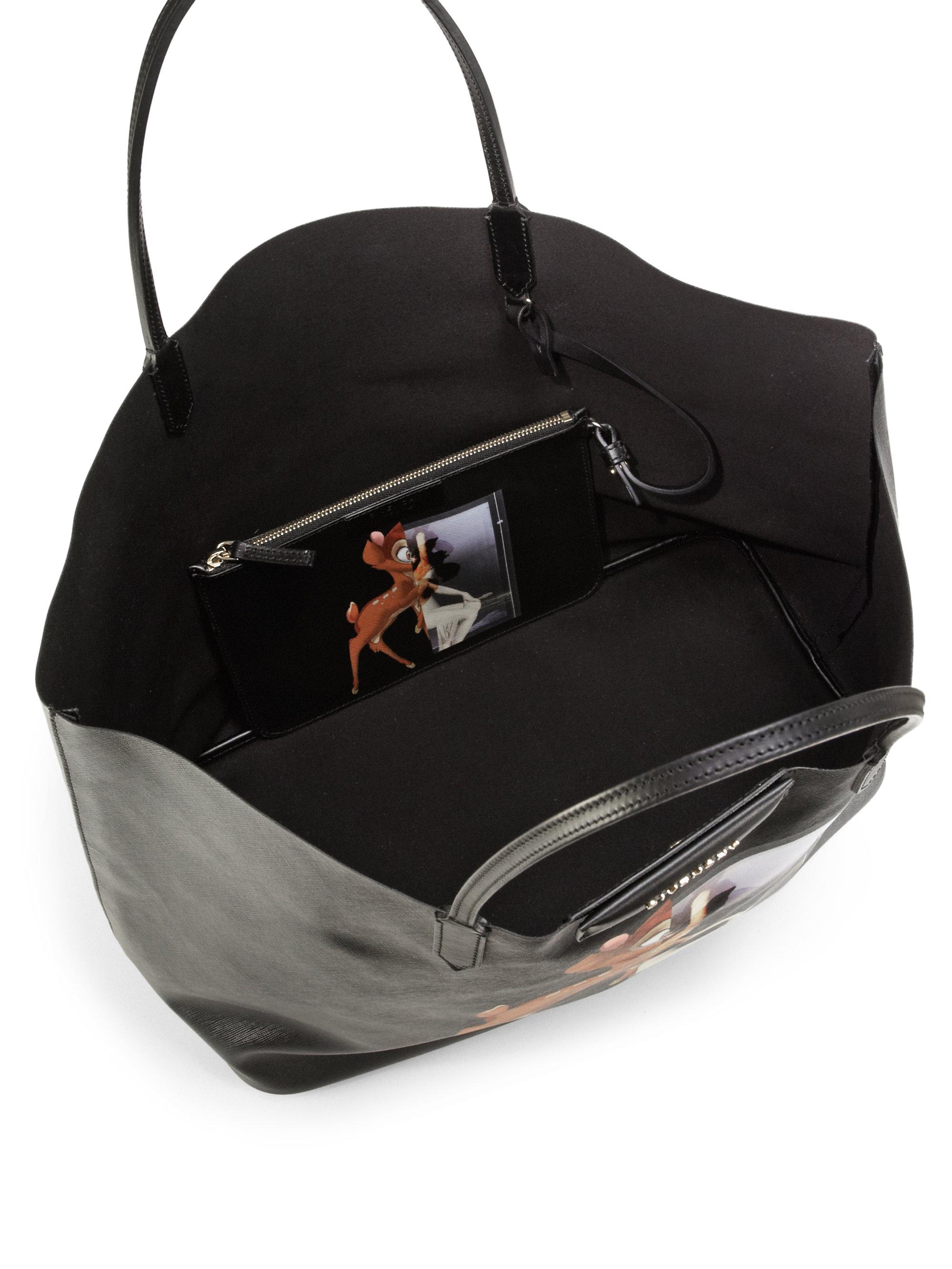 ... Lyst - Givenchy Bambi Medium Leather Shopper Tote in Black san  francisco fe8c1 5d1a0  Givenchy Antigona Large ... c0144ed79a