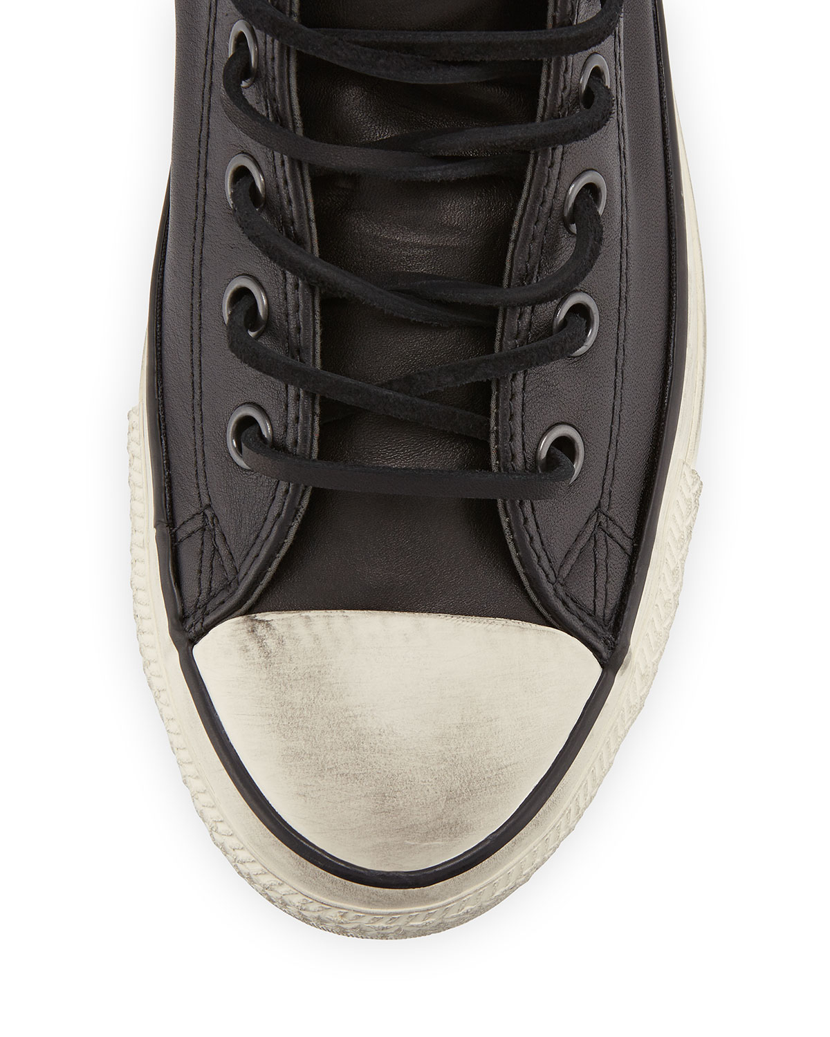 72862beed44e Lyst - Converse John Varvatos Studded Leather High-top Sneaker in Black