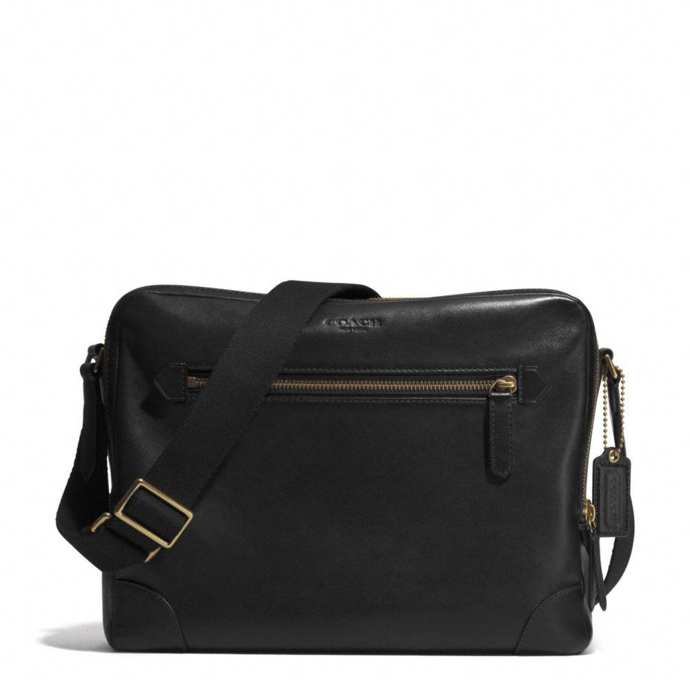 c7e7e0a94f 5715d e5b33  switzerland lyst coach bleecker flight bag in leather in brown  for men c6162 2fe5b
