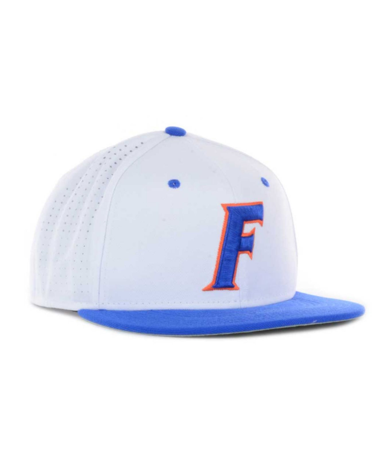arrives d23c9 e165f Nike Florida Gators Authentic Vapor Fitted Cap in White for Men - Lyst