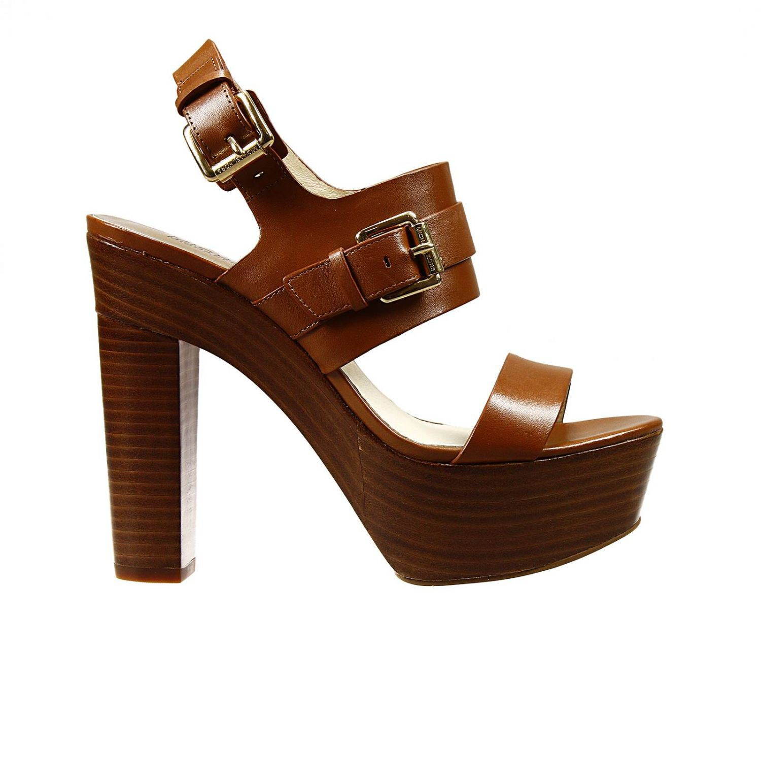 michael kors shoes beatrice heel 9 2 sandal leather with