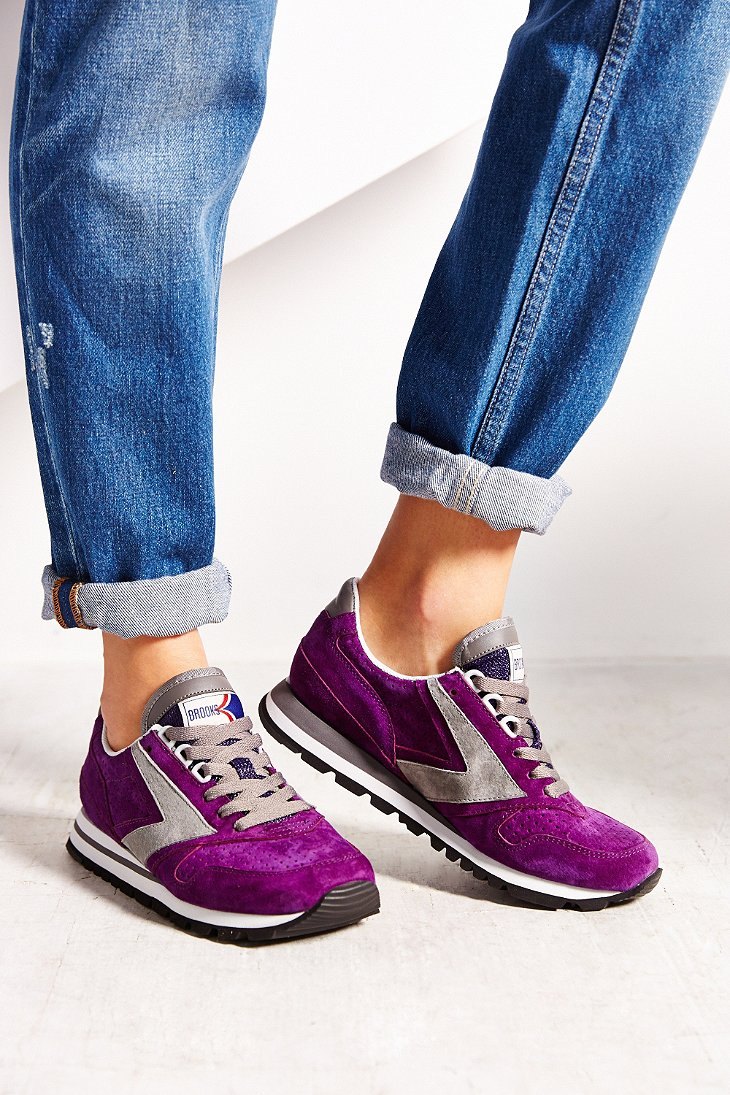 45902c10efd Lyst - Brooks Brooks Winter Chariot Runner Sneaker in Purple