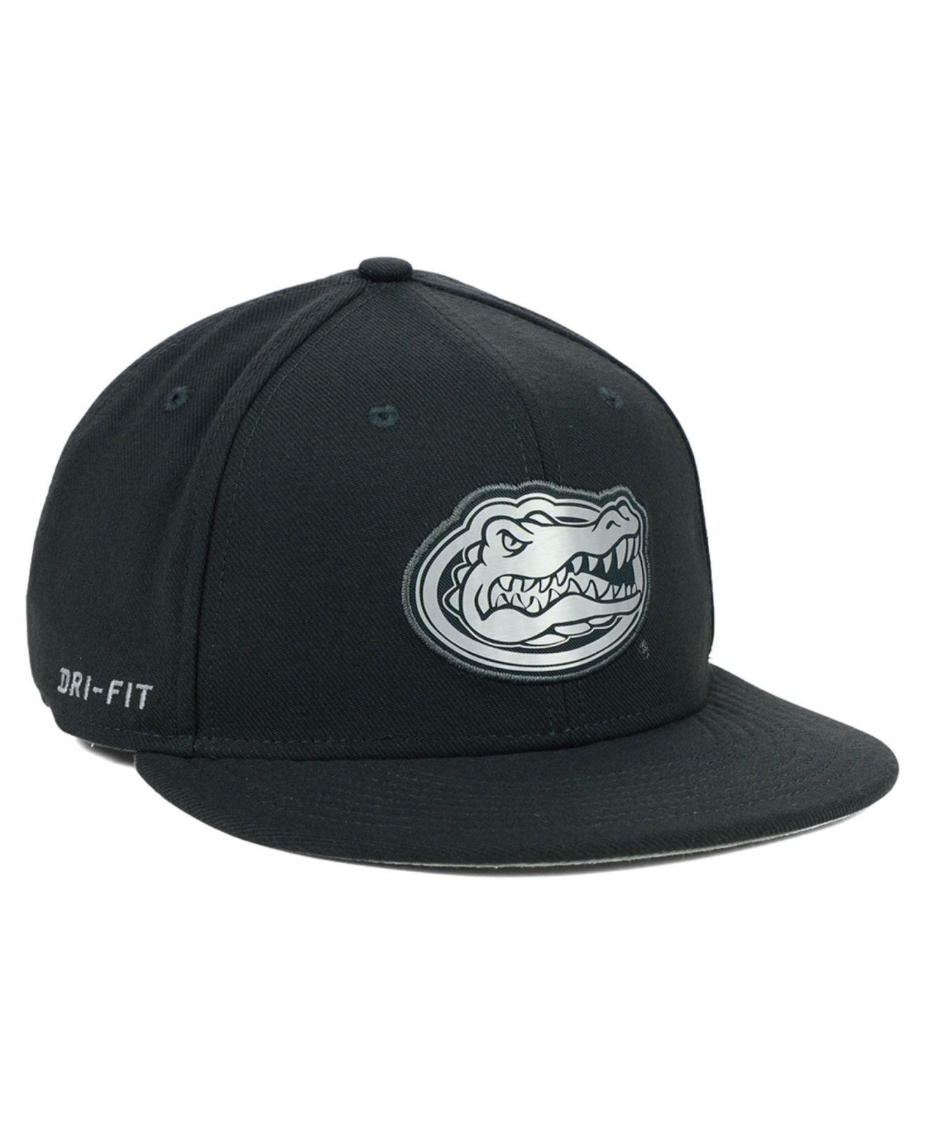 Lyst Nike Florida Gators True Platinum Swooshflex Cap in Gray for Men