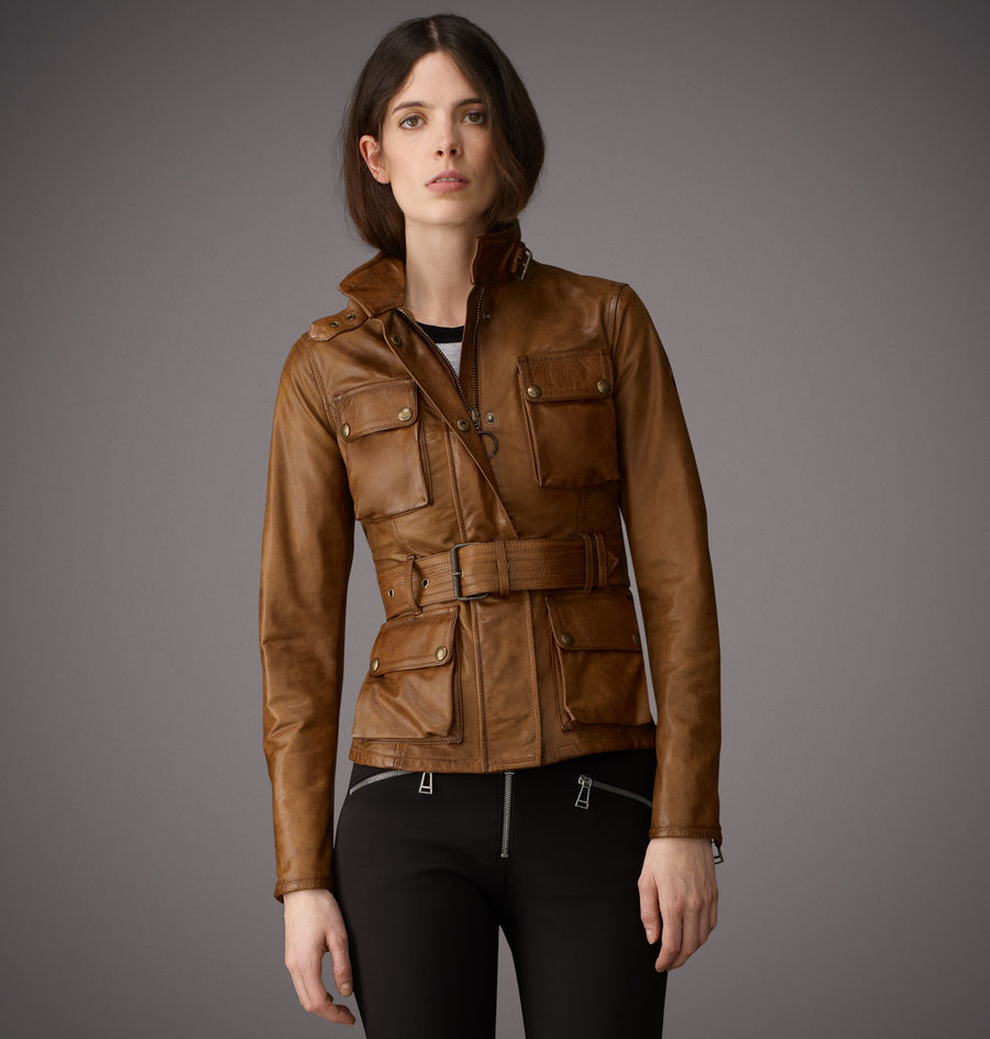 Belstaff The Triumph Jacket In Signature Hand Waxed