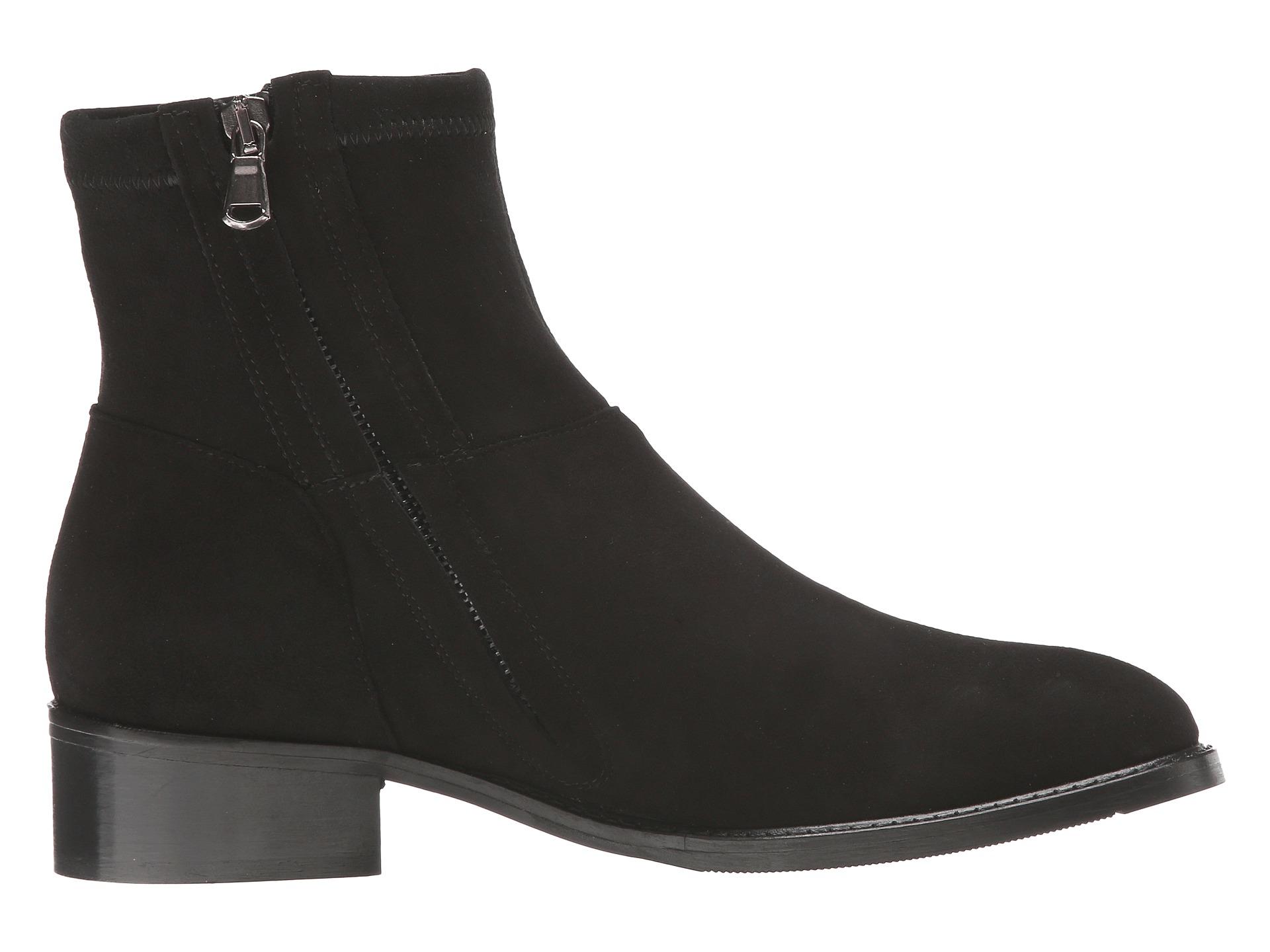 Black Sesto Meucci Womens Boots Suede Albie